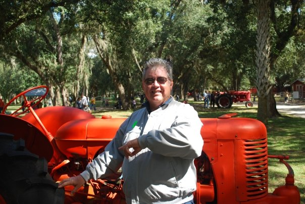 Dad Loves the old tractors!!