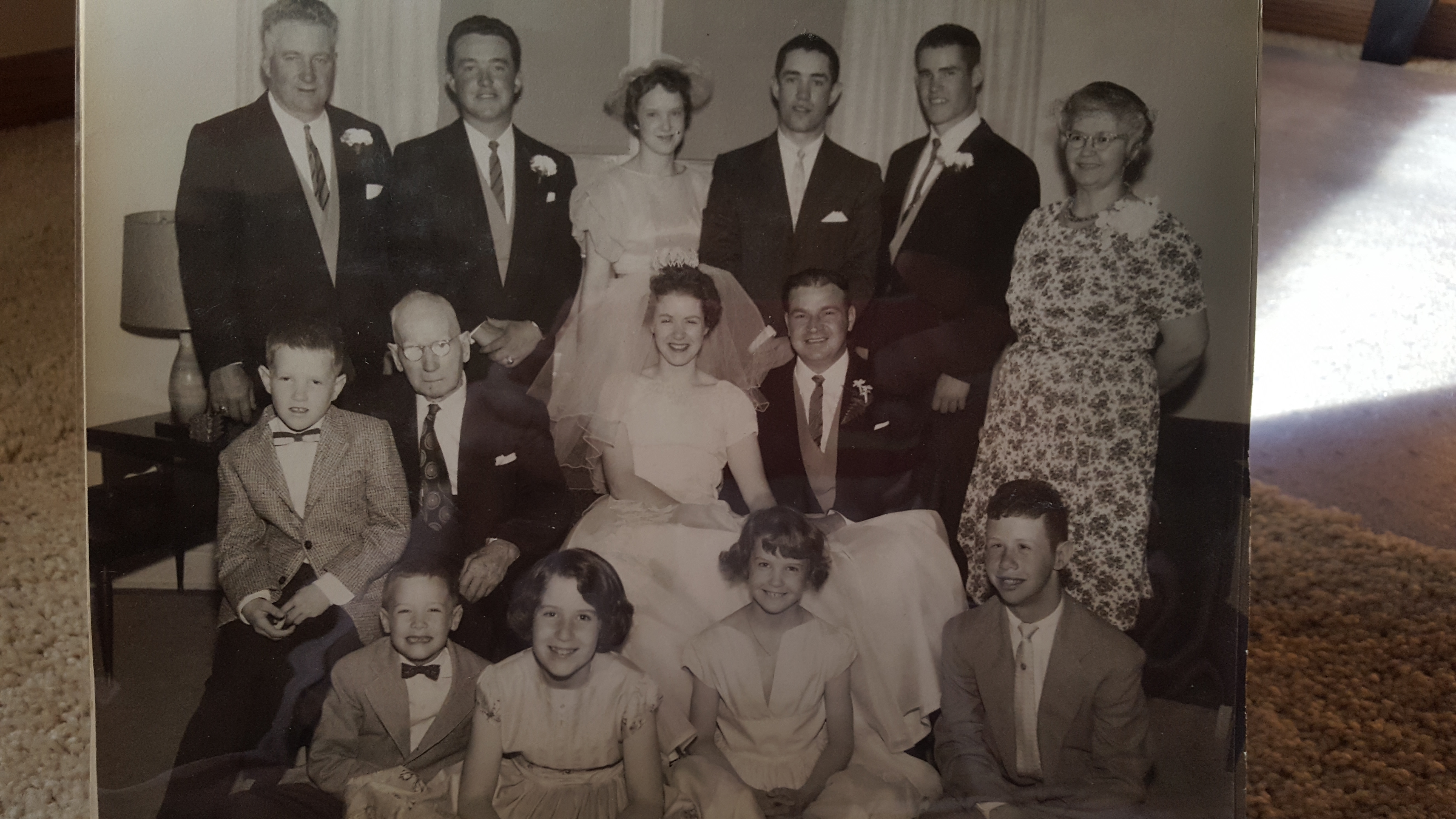 My parents wedding on May 27, 1961 in Richfield, MN.   Uncle Tony was almost 7 yrs old.  Enjoy the memories!