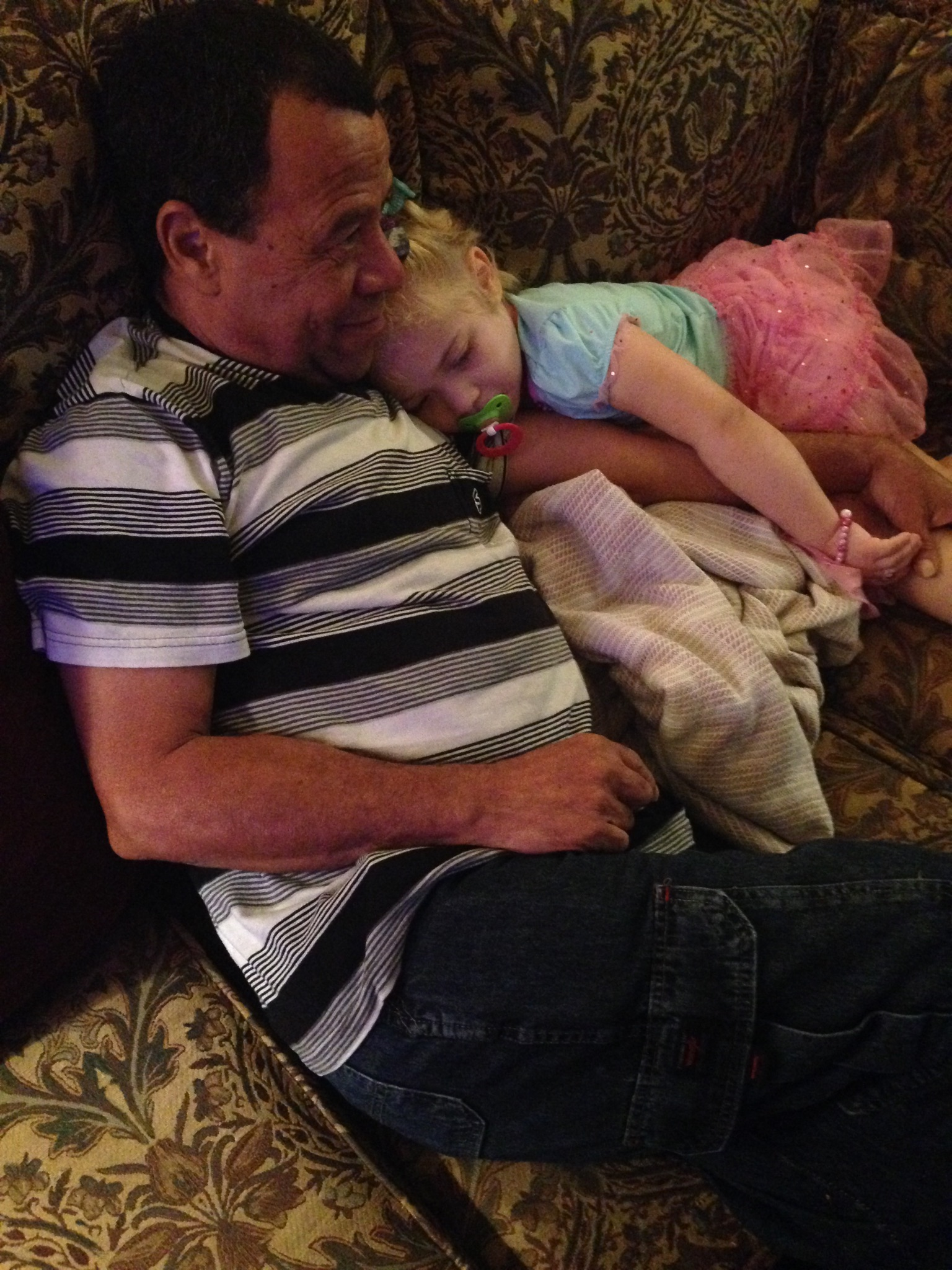 Sophie and Papa