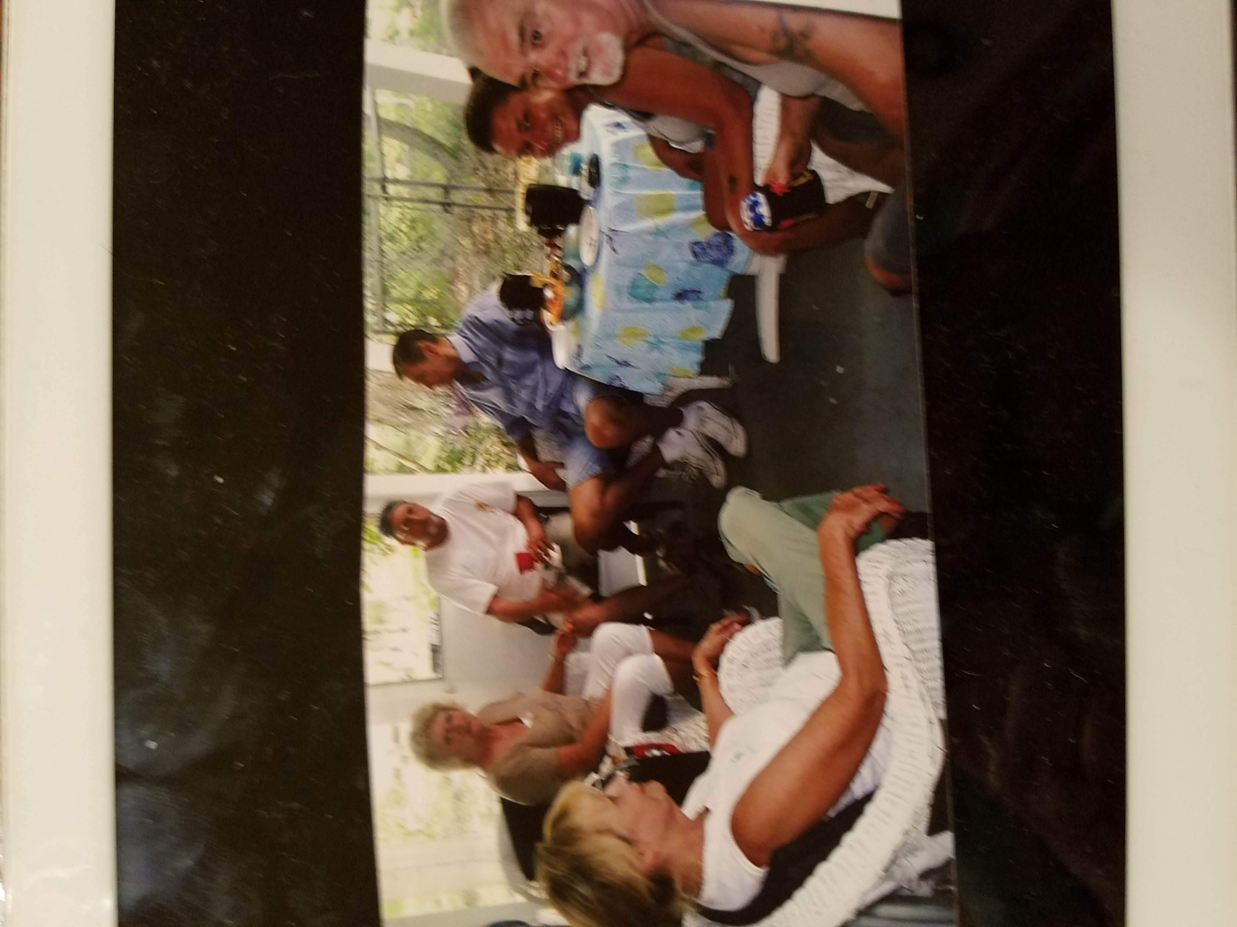 Florida 3 years ago with her brother x sister in law..her neice Me..Her x boyfriend..who she loved so very much..and her sister robertas x..Jim...what a great Memory this fay was..we all were Smiling..May you rest..your work here is done..god caled ypu home..ypur now telling all a great Story..from Down here..im Sure Jimmy got his Ear to your Mouth .LOL rest now...love you so di xoxo