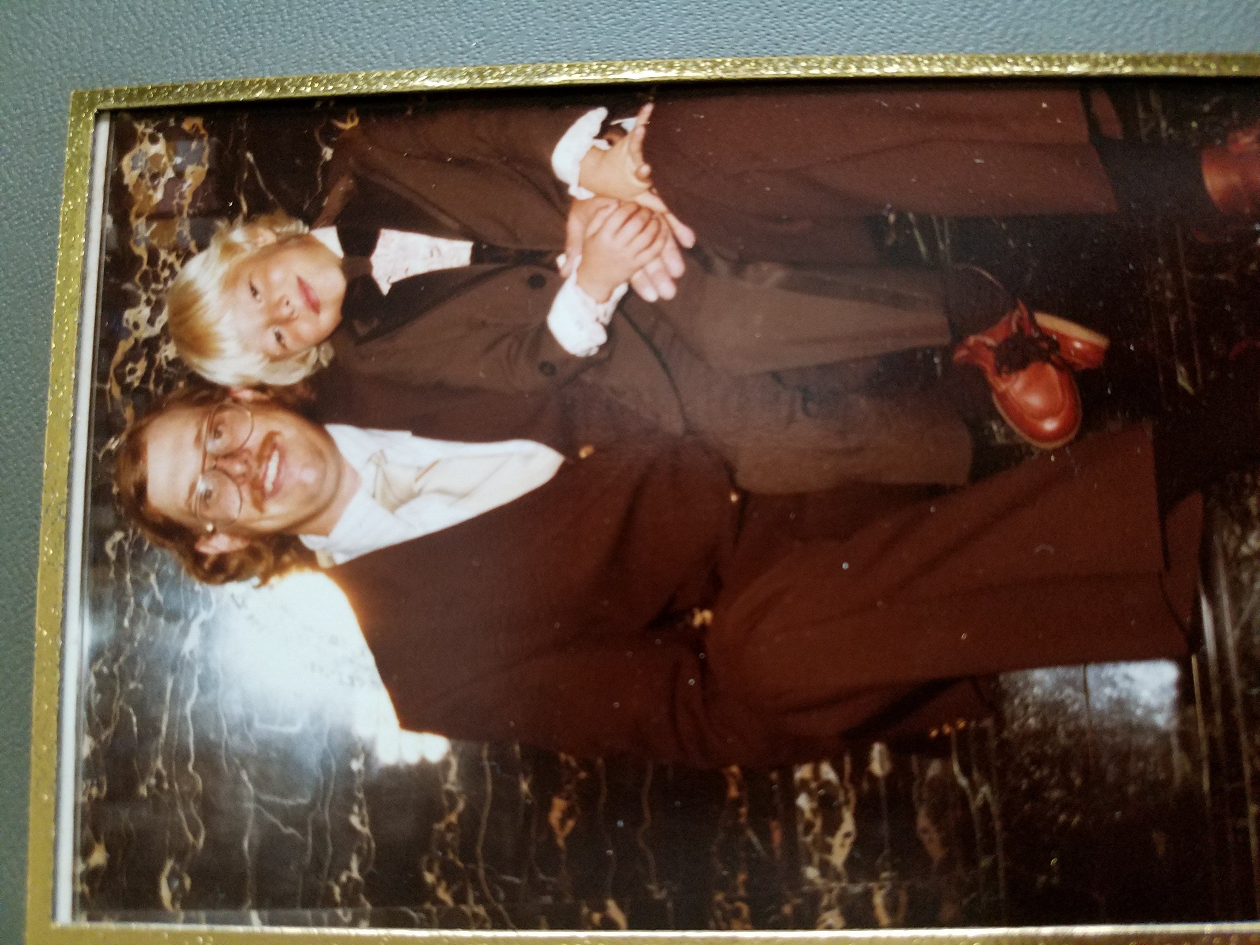 Billy and Shawn from my wedding 1981