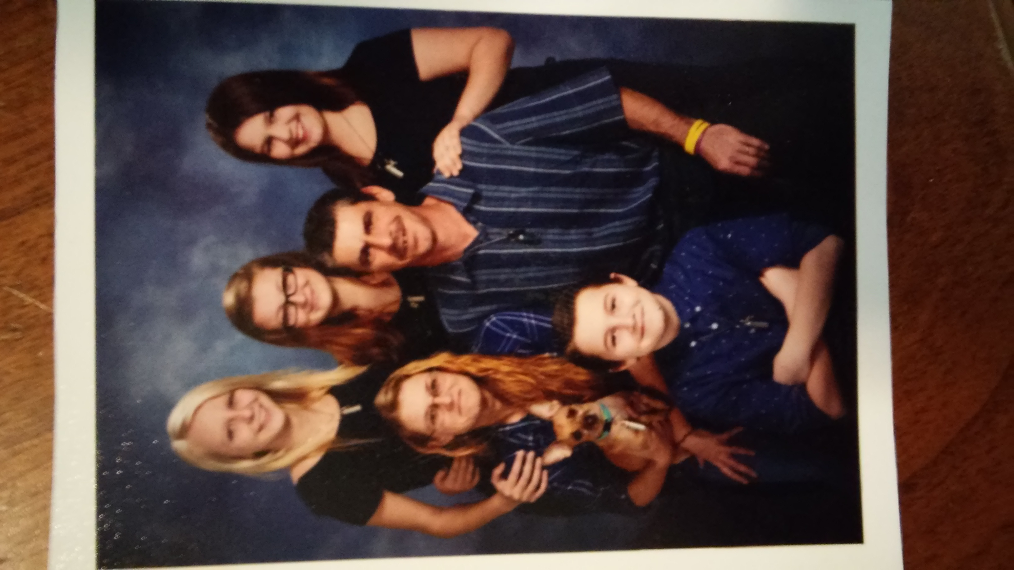 Our family photo!<br />