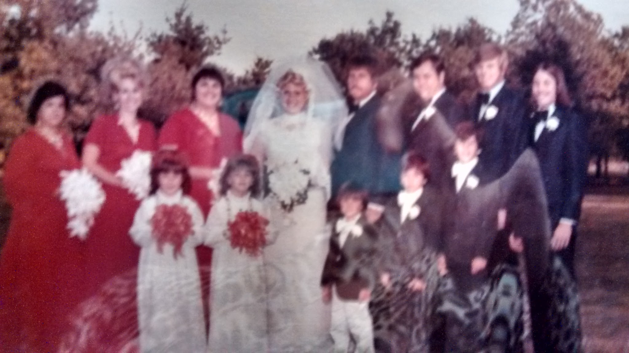 Larry as Best Man at our wedding 1974