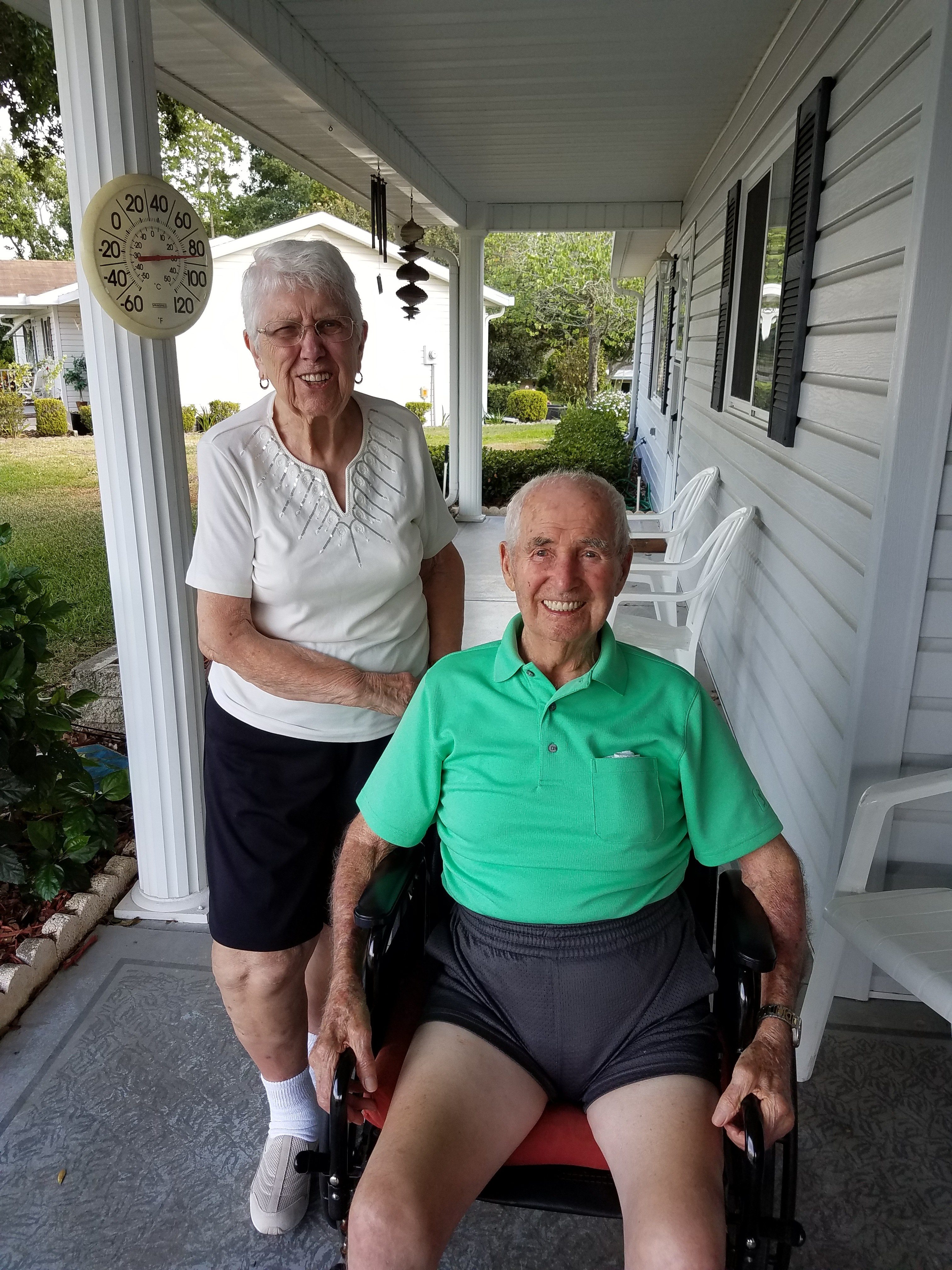 Mom and Dad'stayed 69th wedding anniversary.