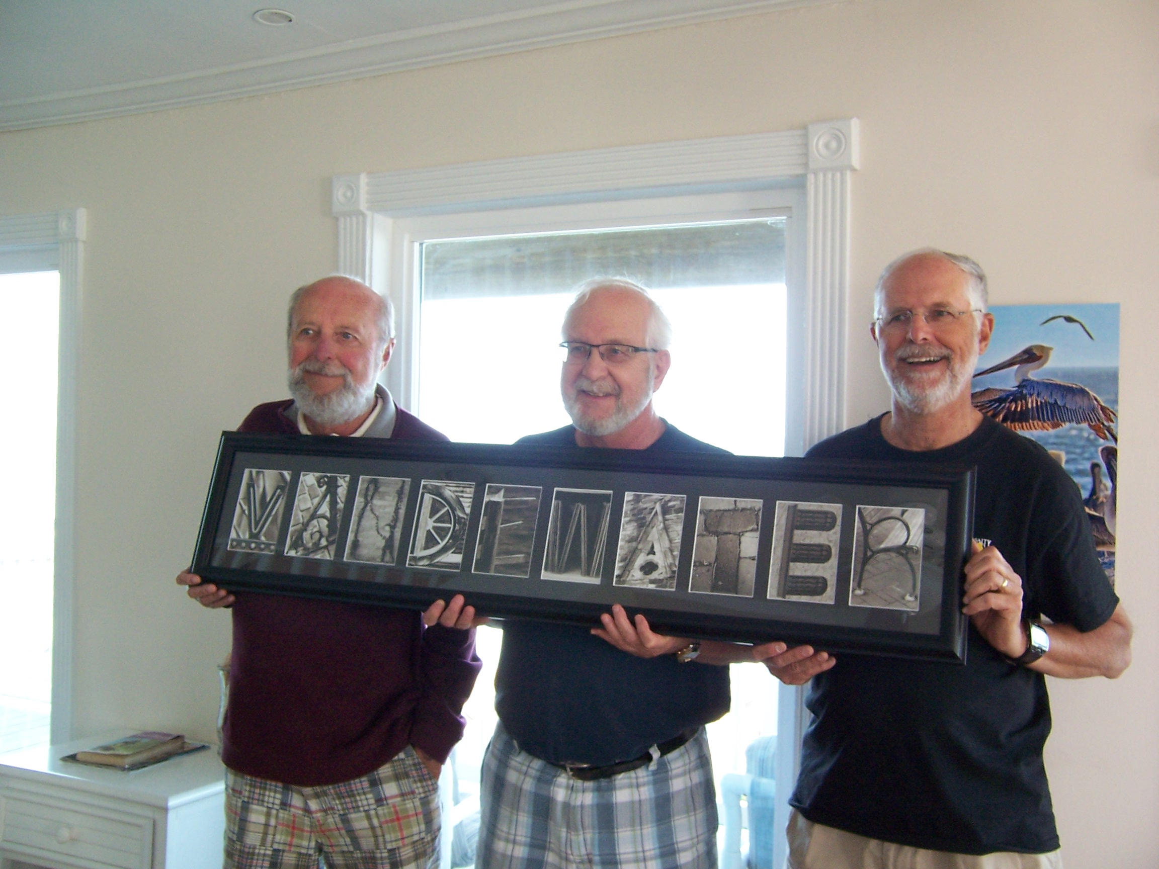 With fondest remembrance of our brother reunion last year in St Augustine.