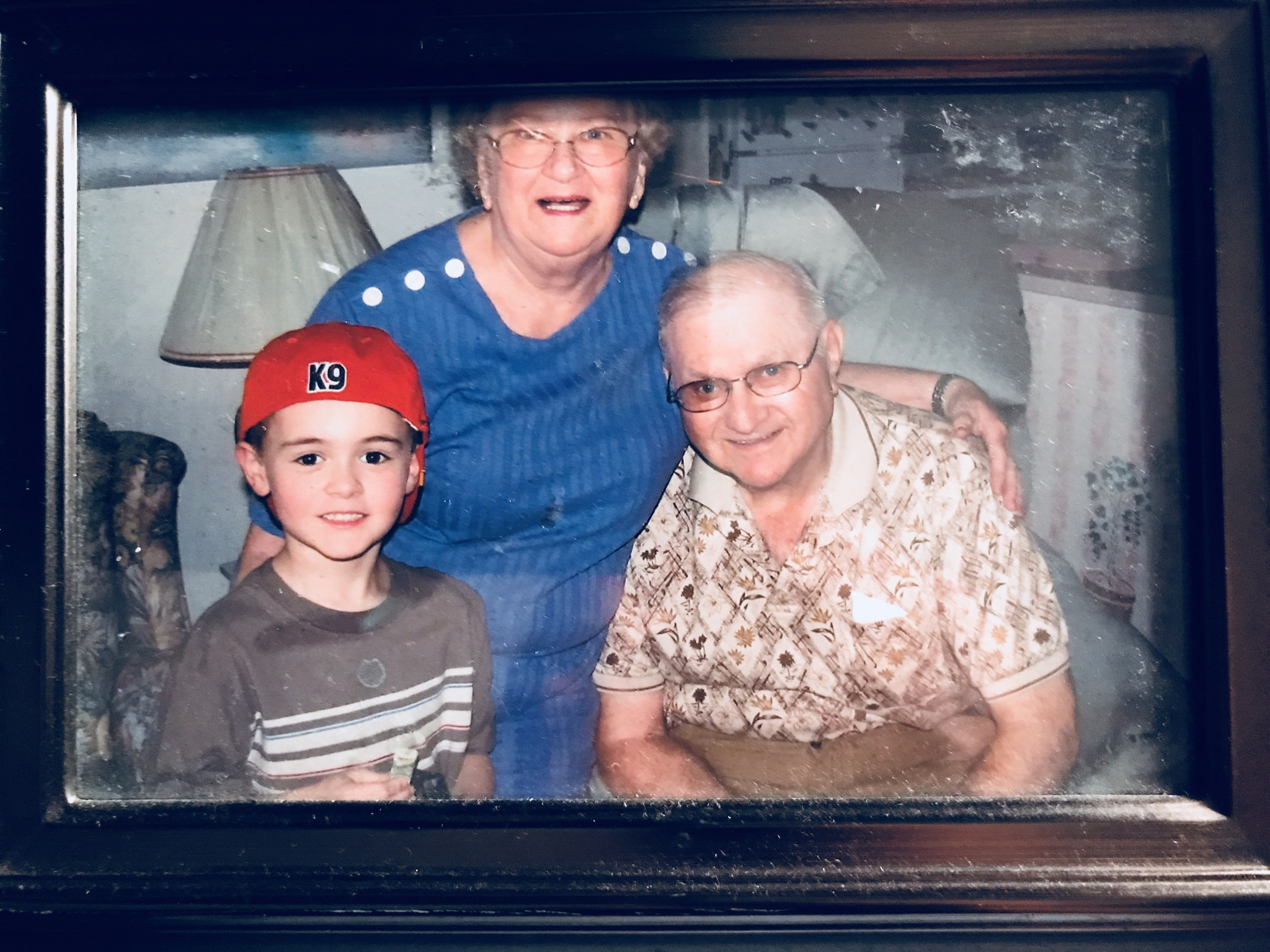 Braden, grandma and grandpa. He loves you so much. Watch over him