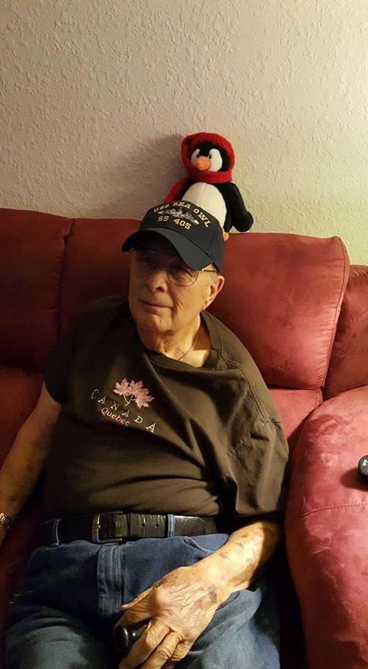 My pappy on a visit not to long ago :)