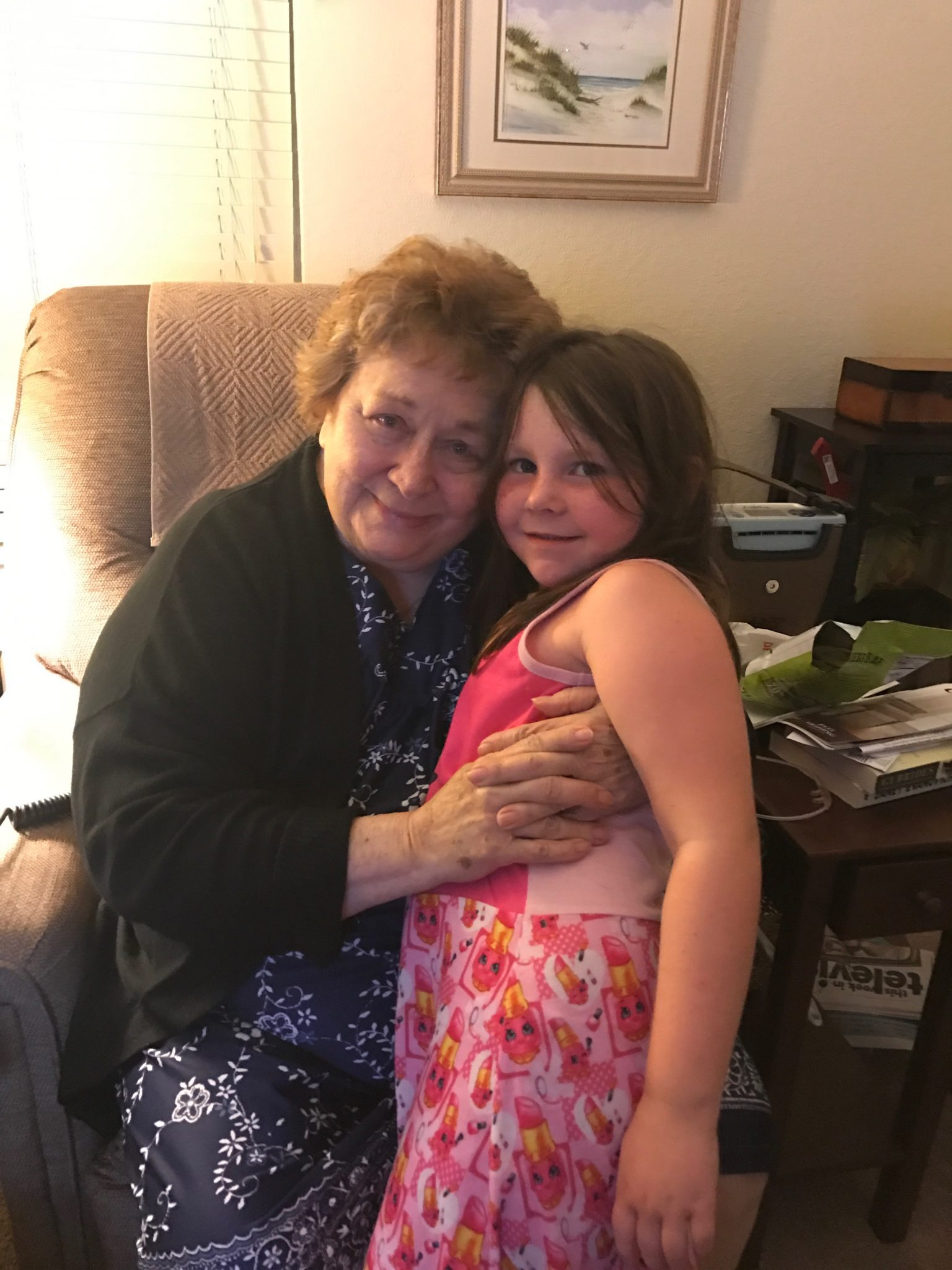 Great Grandma and Briella