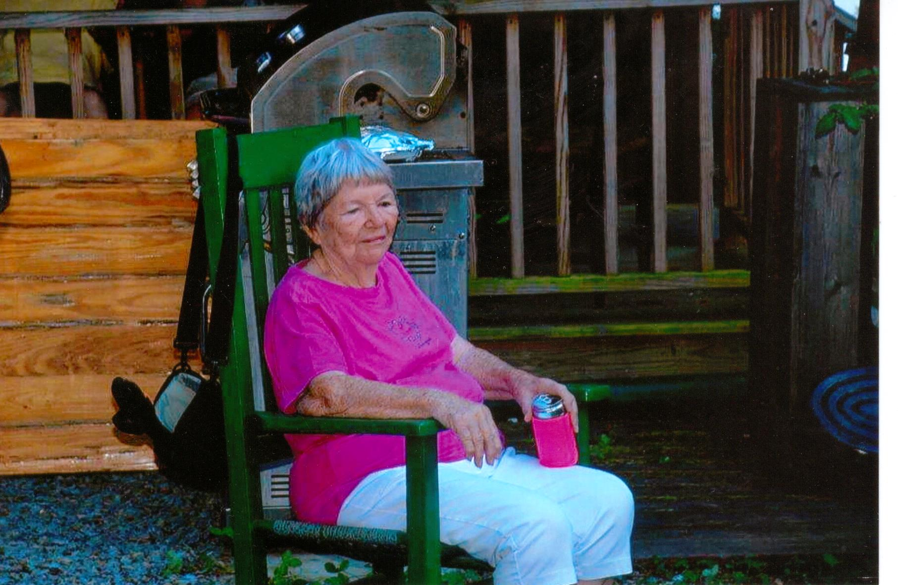 Milly at her 85th birthday party at Mountain Lake, NY.