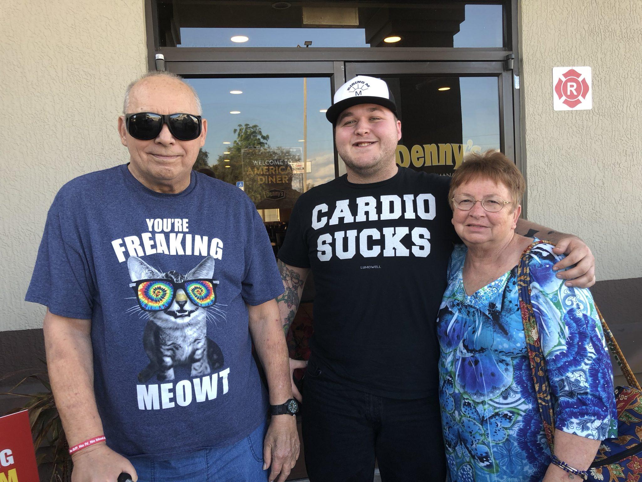 Papa, Grandson William and Nanny