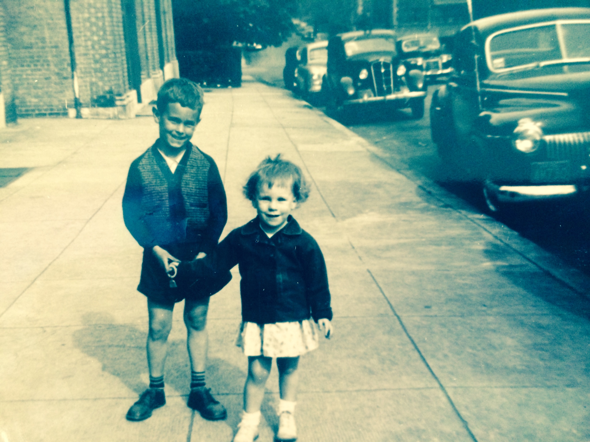 My brother was a great big brother and I knew it when we were very young