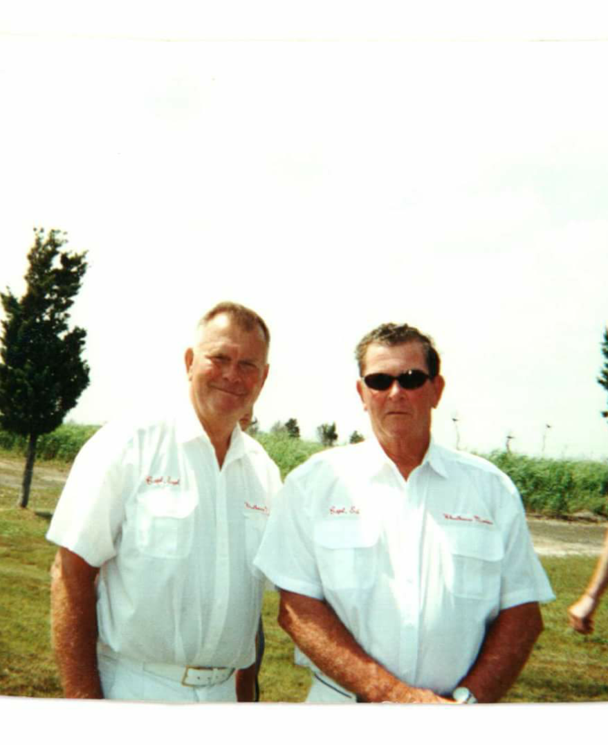 My daddy and his best friend and brother. Love and miss you both