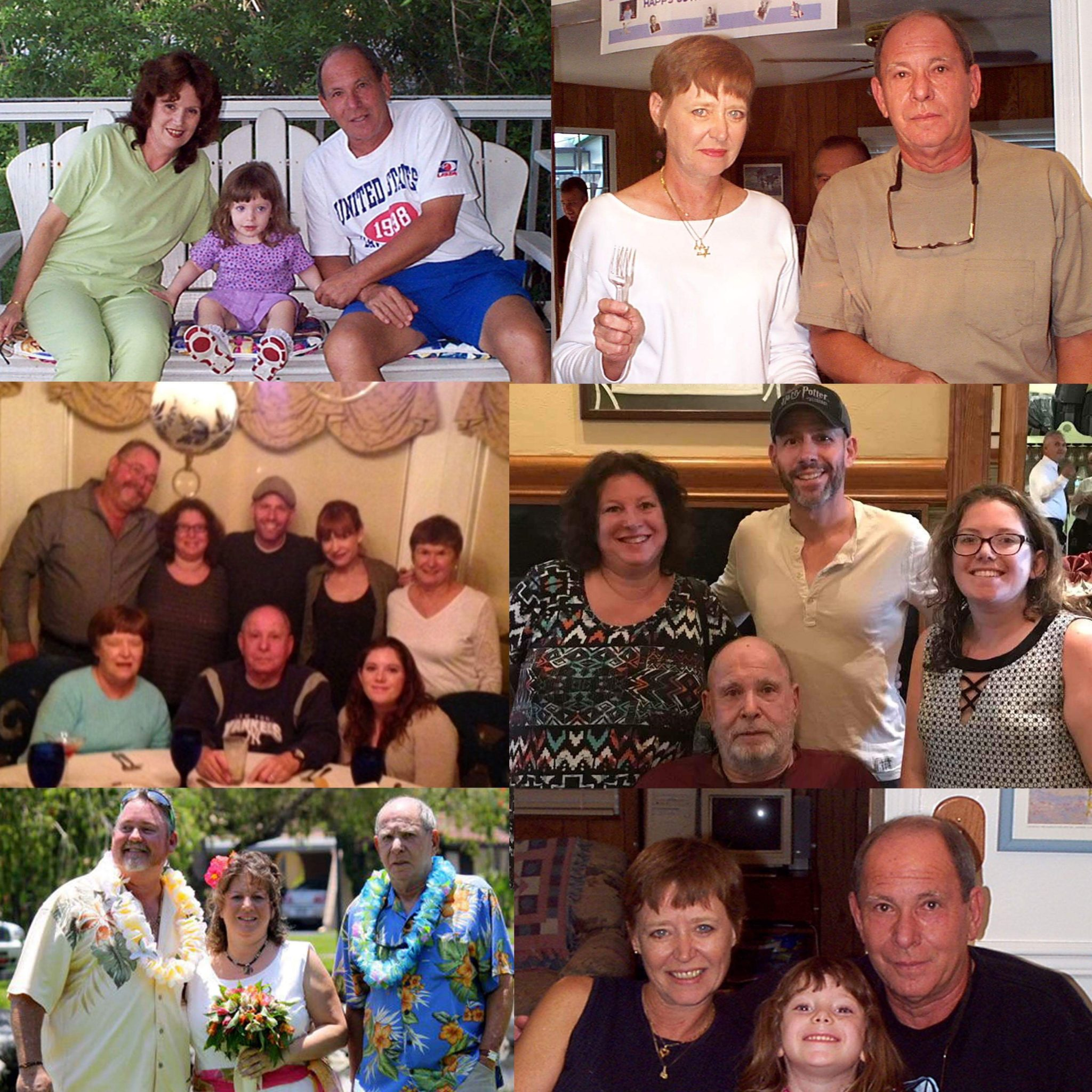 Your loving family thru the years