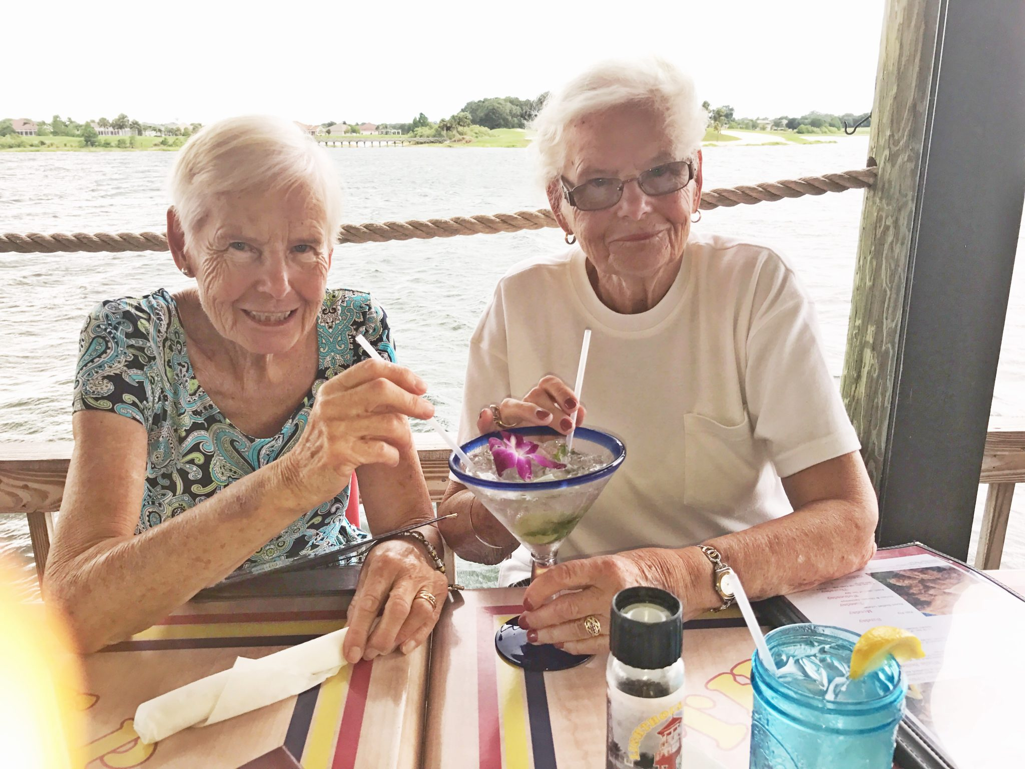Oma, some of my happiest memories of my life involve you. One of my favorites is when we would play in your backyard in Colorado in the snow. You didn't want our shoes to get wet, so you put plastic bags around them! Always creative like that, you were the original recycler. We had a lot of great times at red rocks and Heritage Square, especially during Oktoberfest.  Thank you for sharing with me our German culture and heritage. My other favorite memories involve the beach. I am so glad we got to go to so many different fun beaches in Florida.  You were the kindest Oma, and have left a great mark in my heart forever.