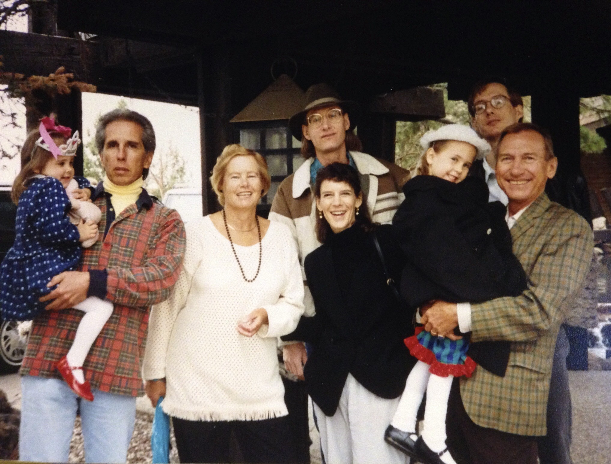 Lore and her family in the early 1990's.