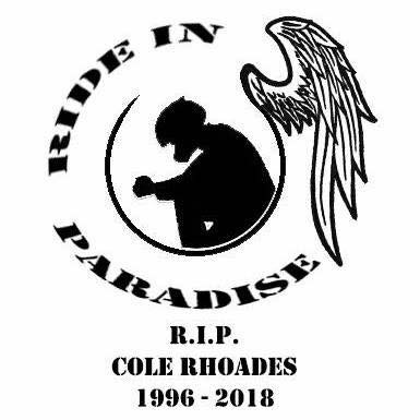 Ride In Paradise Brother. See you on the other side!