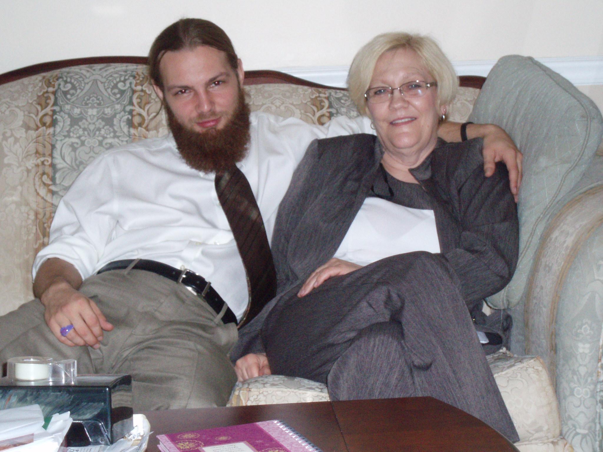Sue and son, Mark