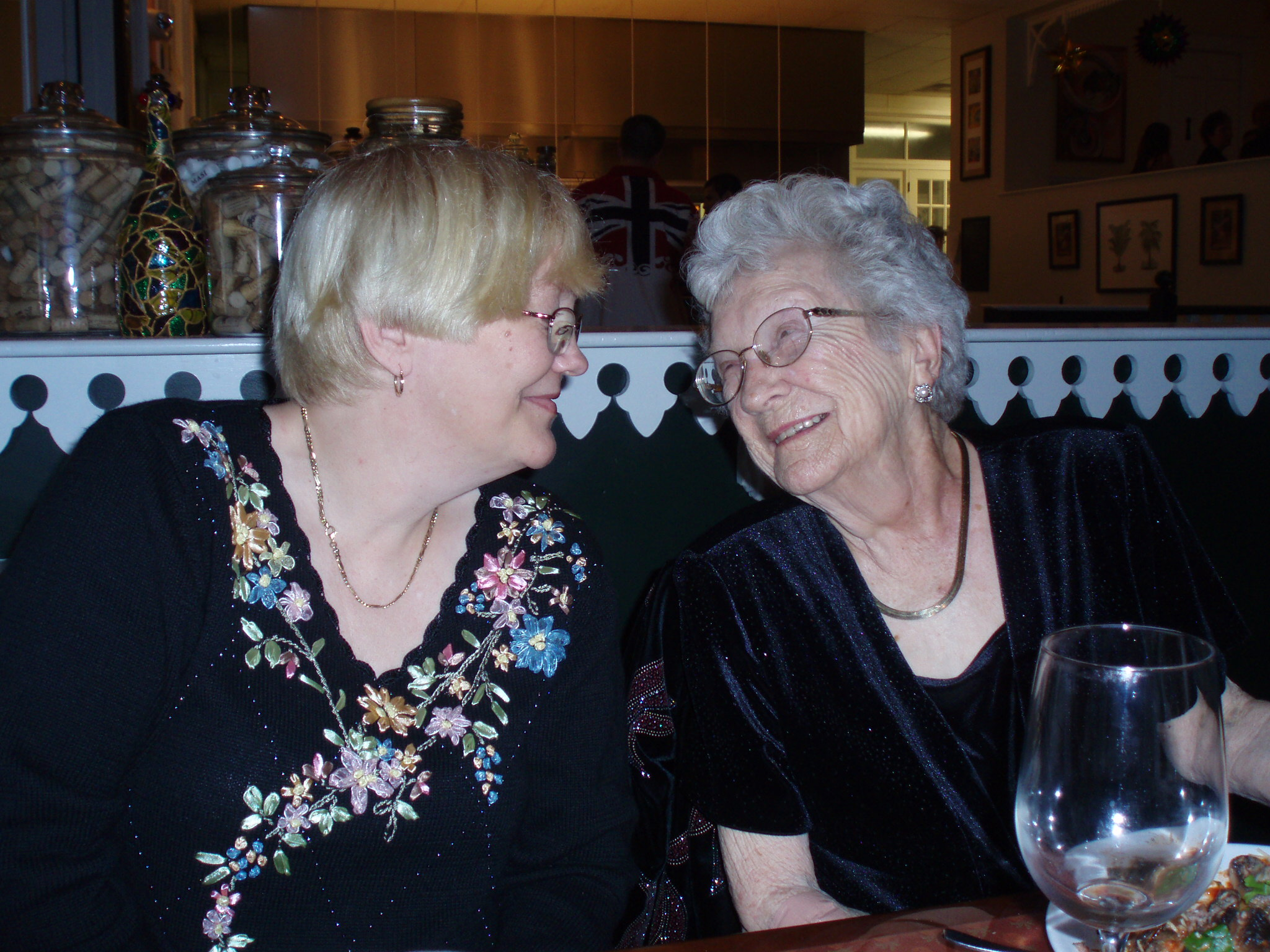 Sue and her Mom, Barbara