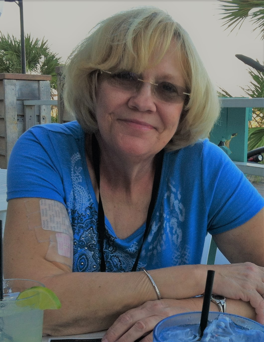 Sue in Jacksonville in 2015