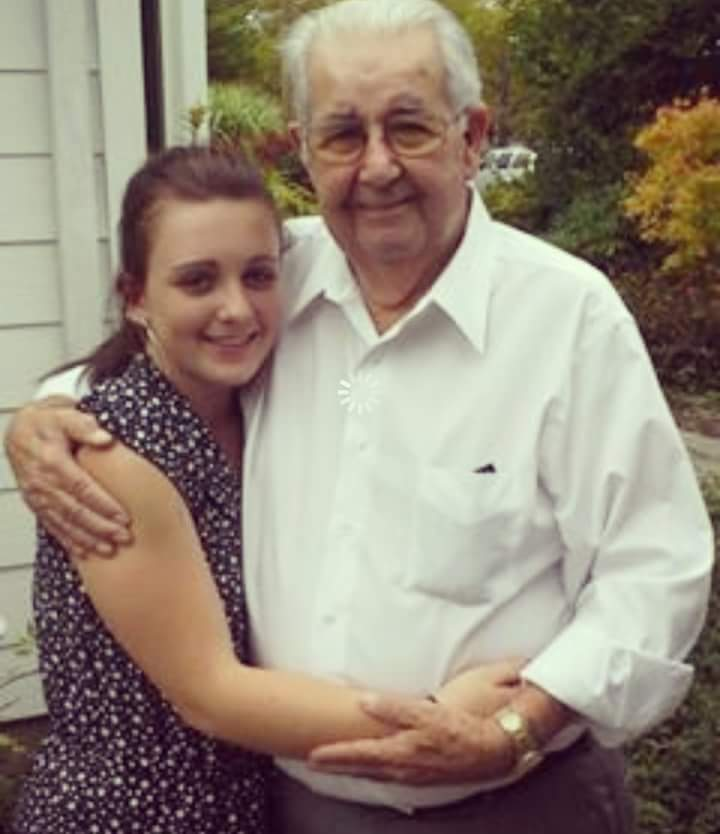 Alexandra and Pop, the man she admired and loved so much.