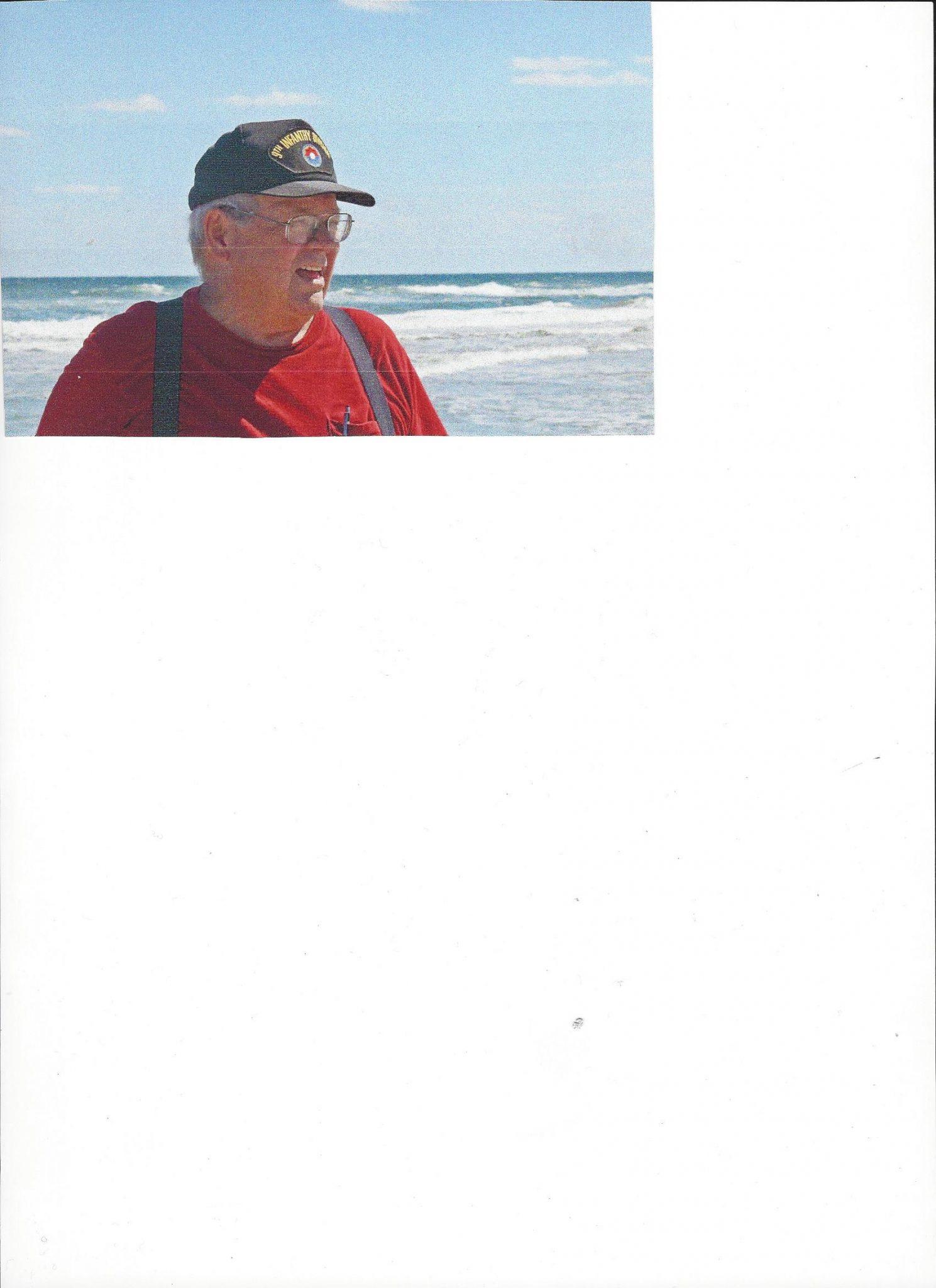 Nelson at Canaveral National Seashore near New Smyrna Beach.