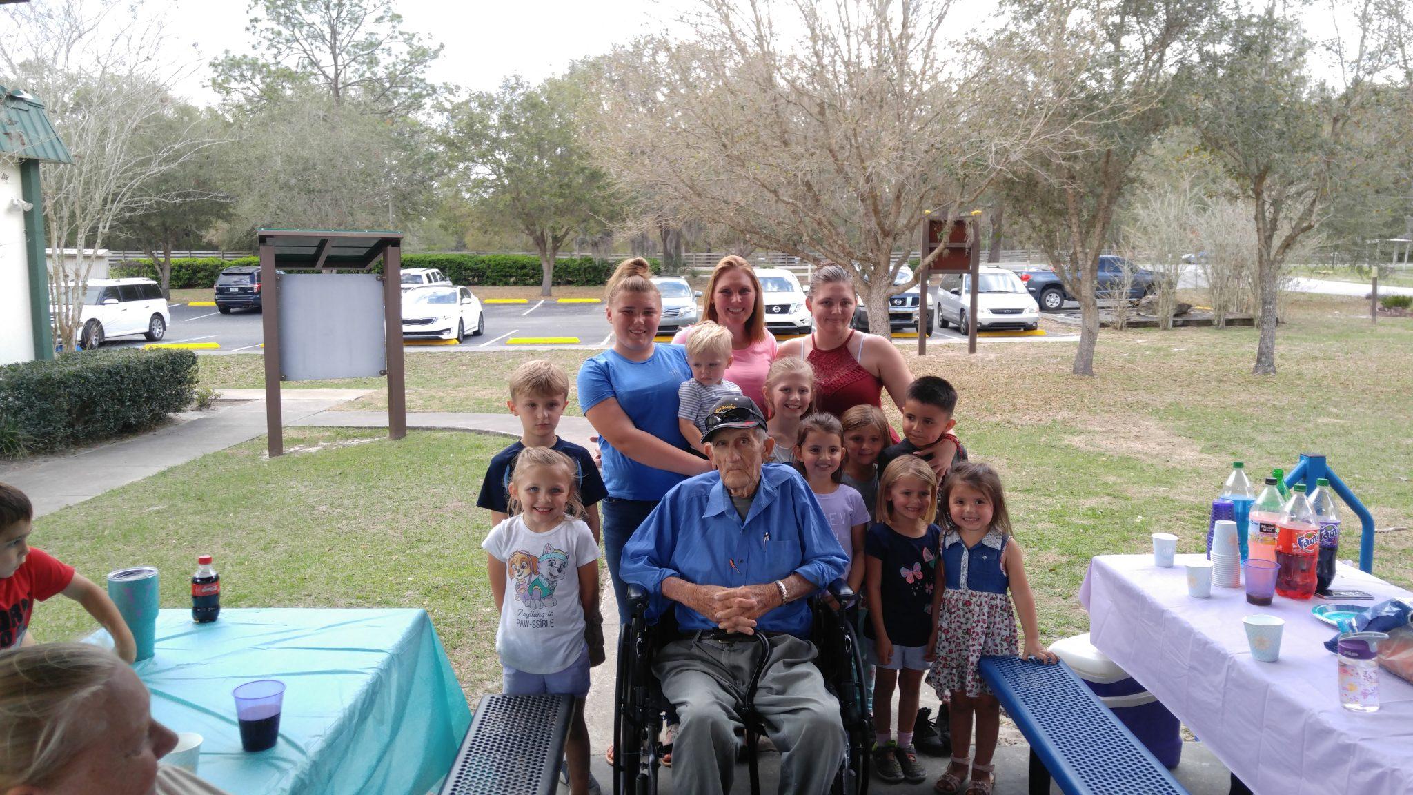 Grandchildren and great Grandchildren