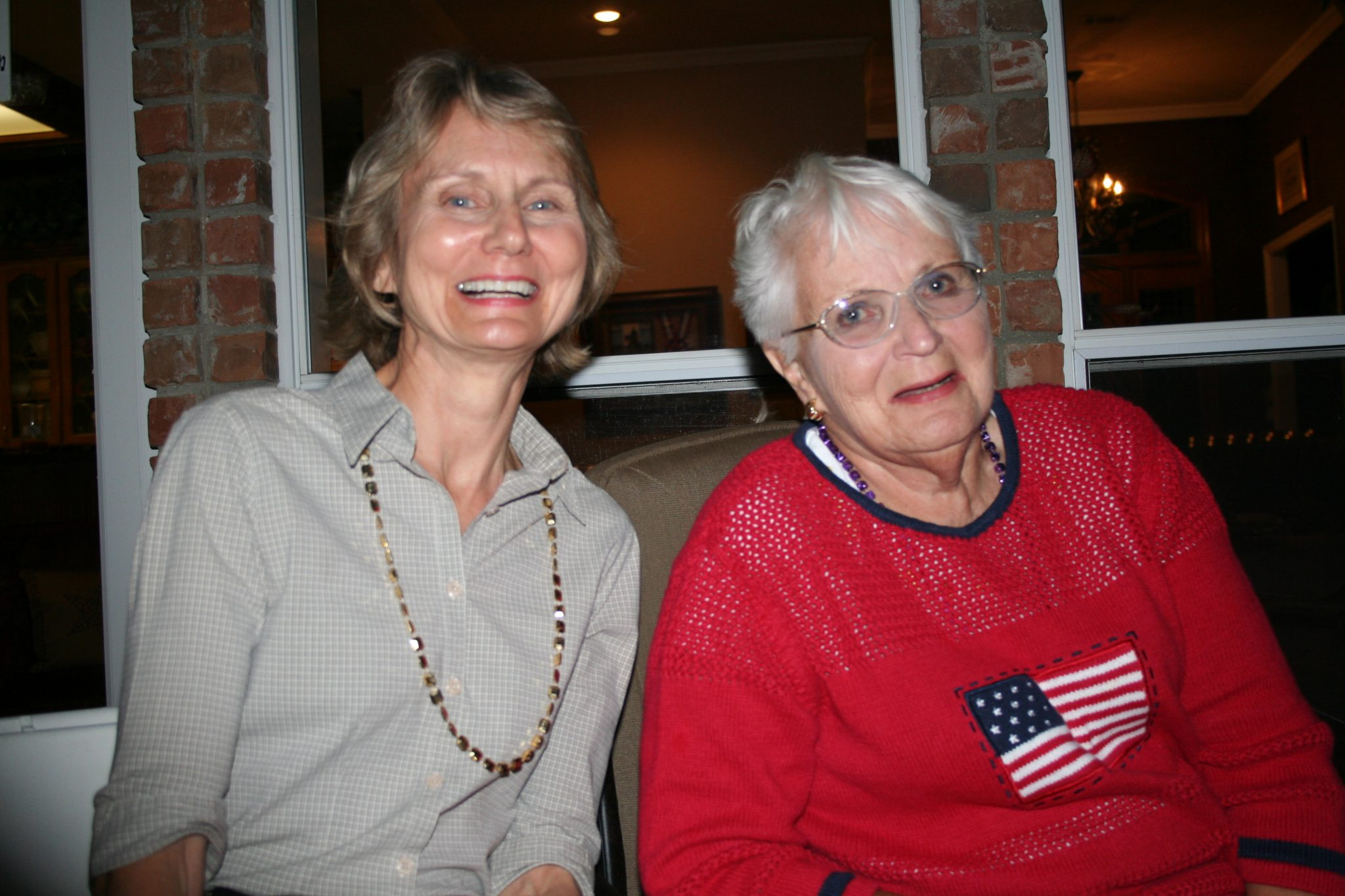 As Mother & Daughter, we often joined in hearty laughter.