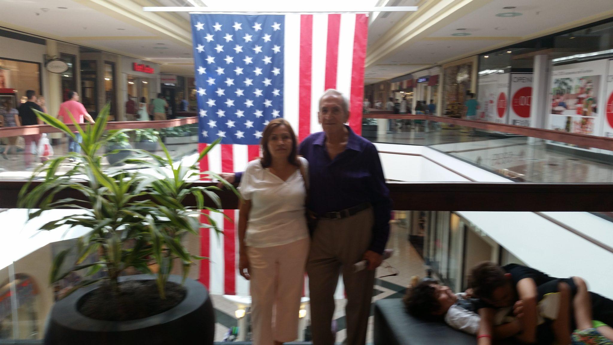 En el centro comercial Milenia Mall, Orlando Florida.  September 2016.