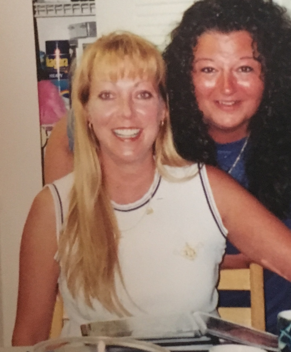 Janet & Vicky Just Hanging out on my Vacation. Now when I see the beach Il know your there from the Breeze blowing and the Sun Shining on the Ocean Waters. See you when time calls me My Beautiful Soul Sister. Love You Forever ❤