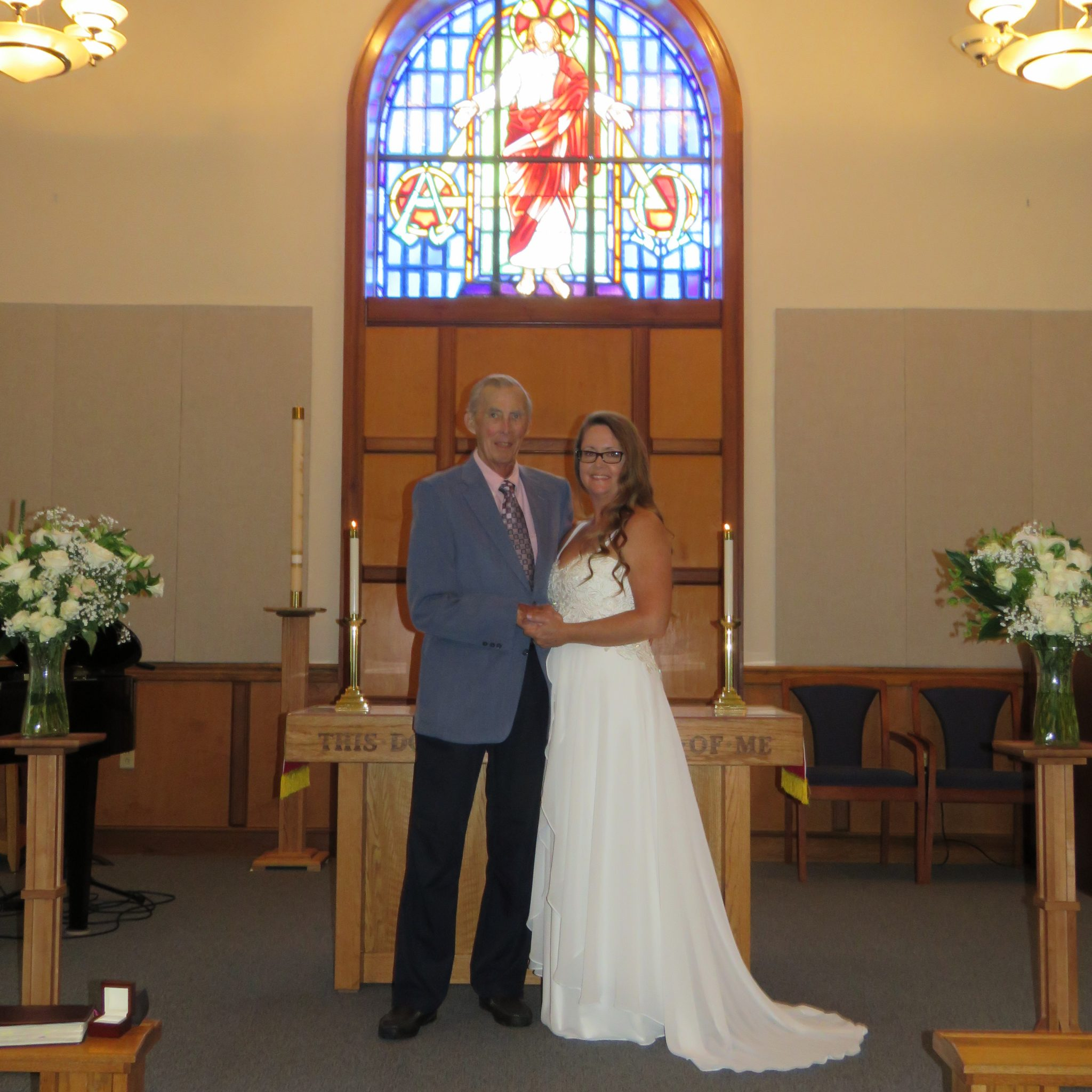 My dad and I on my wedding day! Love you dad!