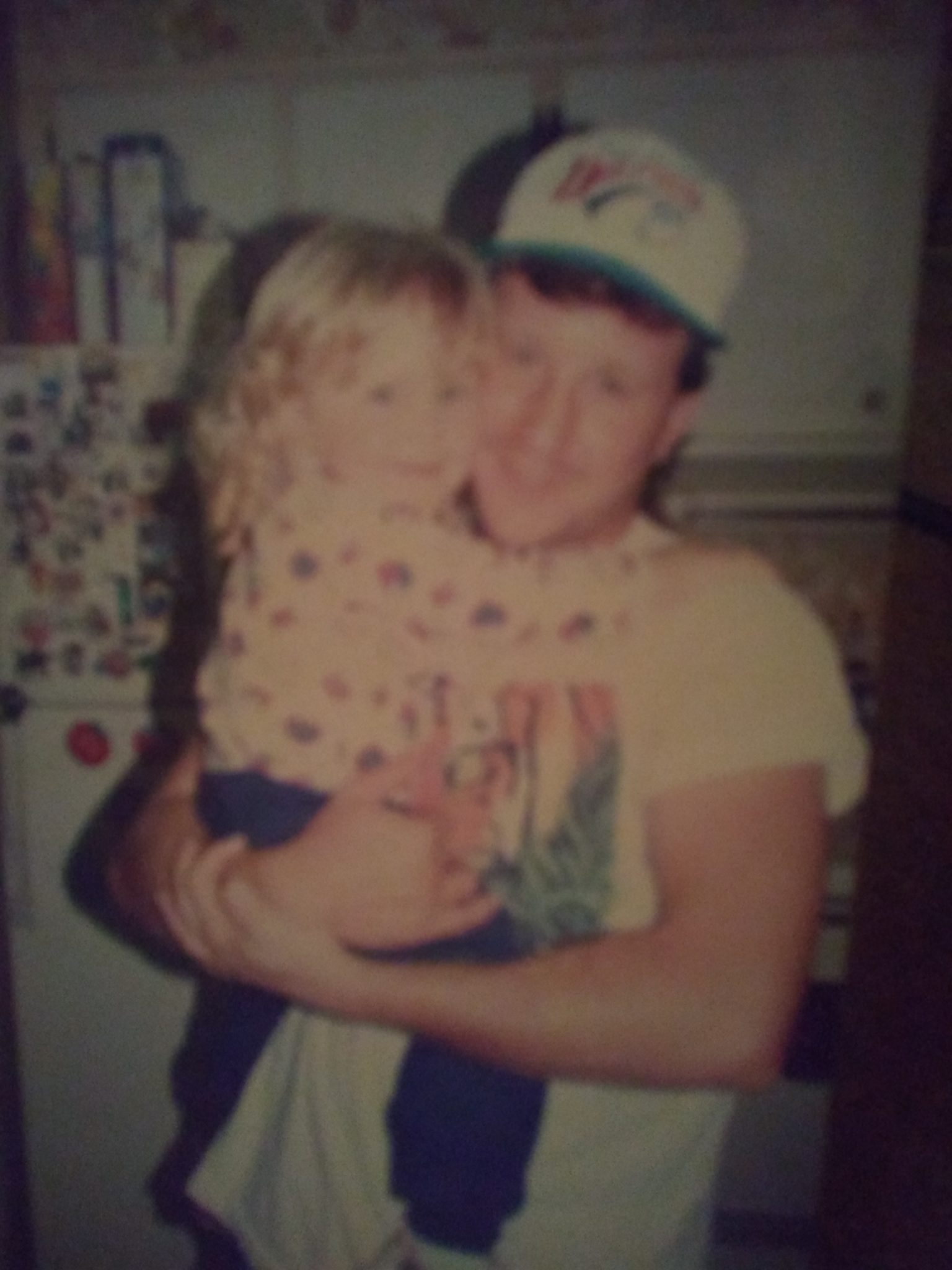 Ricky and Courtney . He loved his baby girl