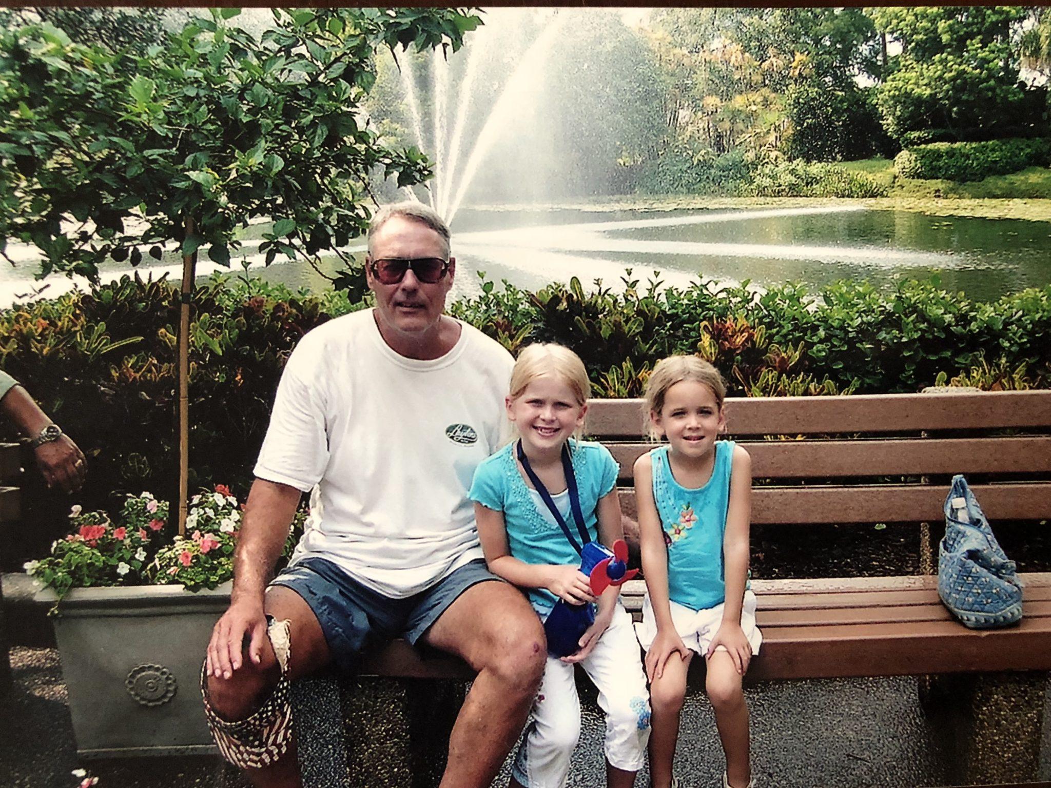 Papa, Aidia, and Kira<br /> 2006