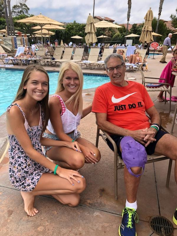 Pe and his girls<br /> Newport Beach 2018