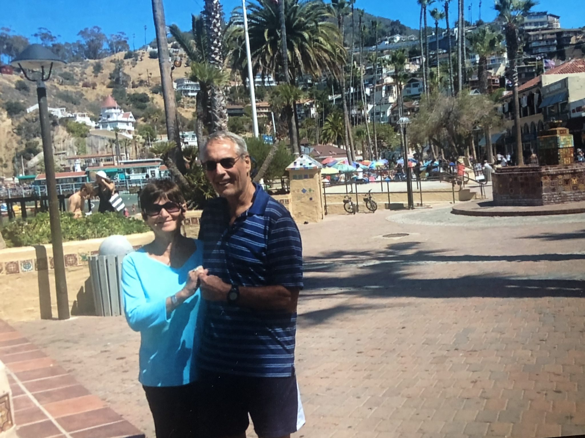 Lynn and Cliff <br /> Catalina Island 2014