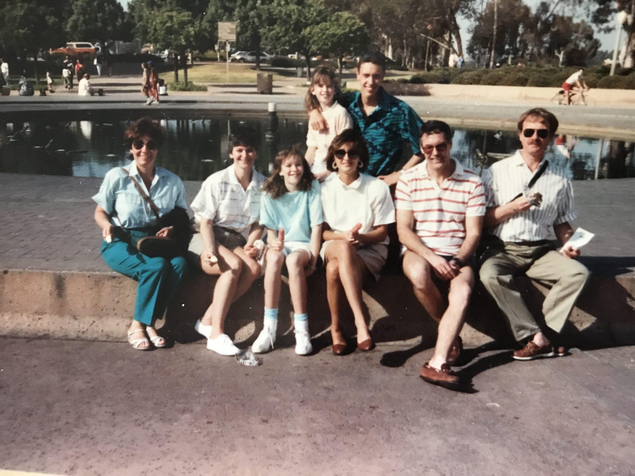 Karen's law school graduation- San Diego, June 1990