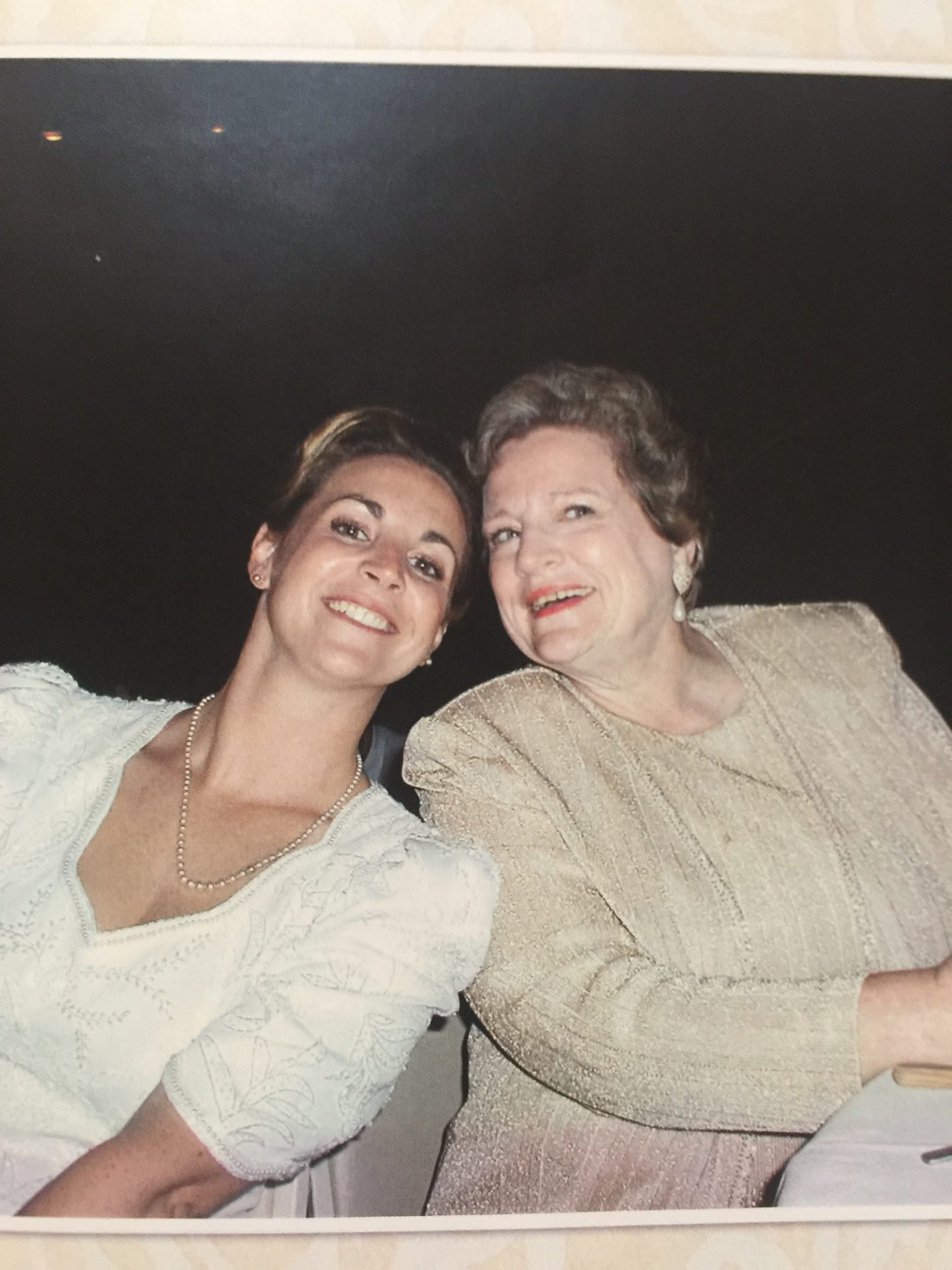My Mother<br /> My Maid of Honor<br /> My heart is heavy<br /> I am so thankful to have had you as my mom.  I'll miss you and I'll see you when it's time for me to get my wings.