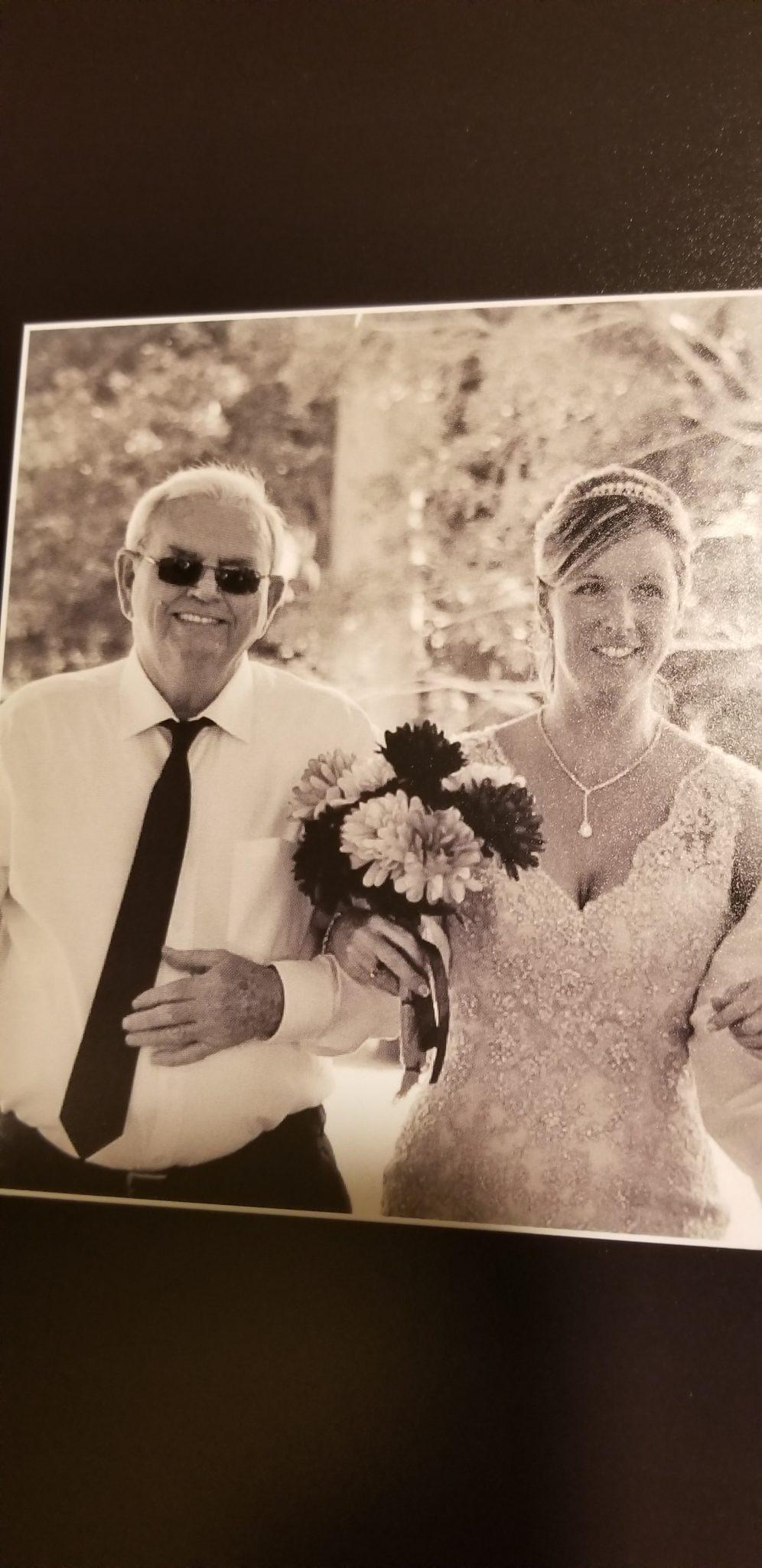 Dad at my wedding