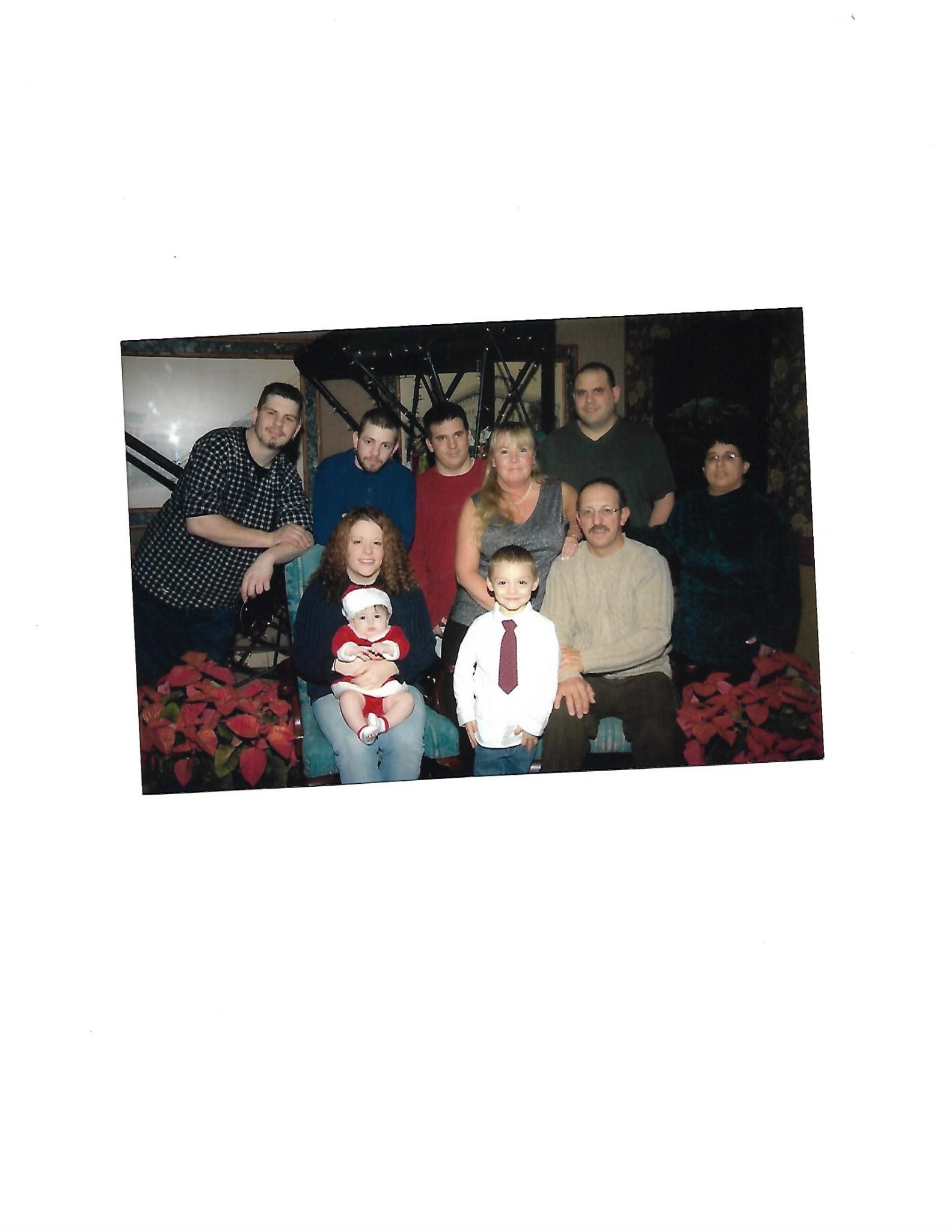 Family Christmas in Watertown NY in 2005. <br /> Kenneth P. Nyland III, Monica, Tia, Alex<br /> Kenneth P. Nyland Sr, Kimberly Nyland<br /> Kevin Nyland<br /> Cindy Nyland-Hunt, Eric Hunt, Douglas Lockrow Jr