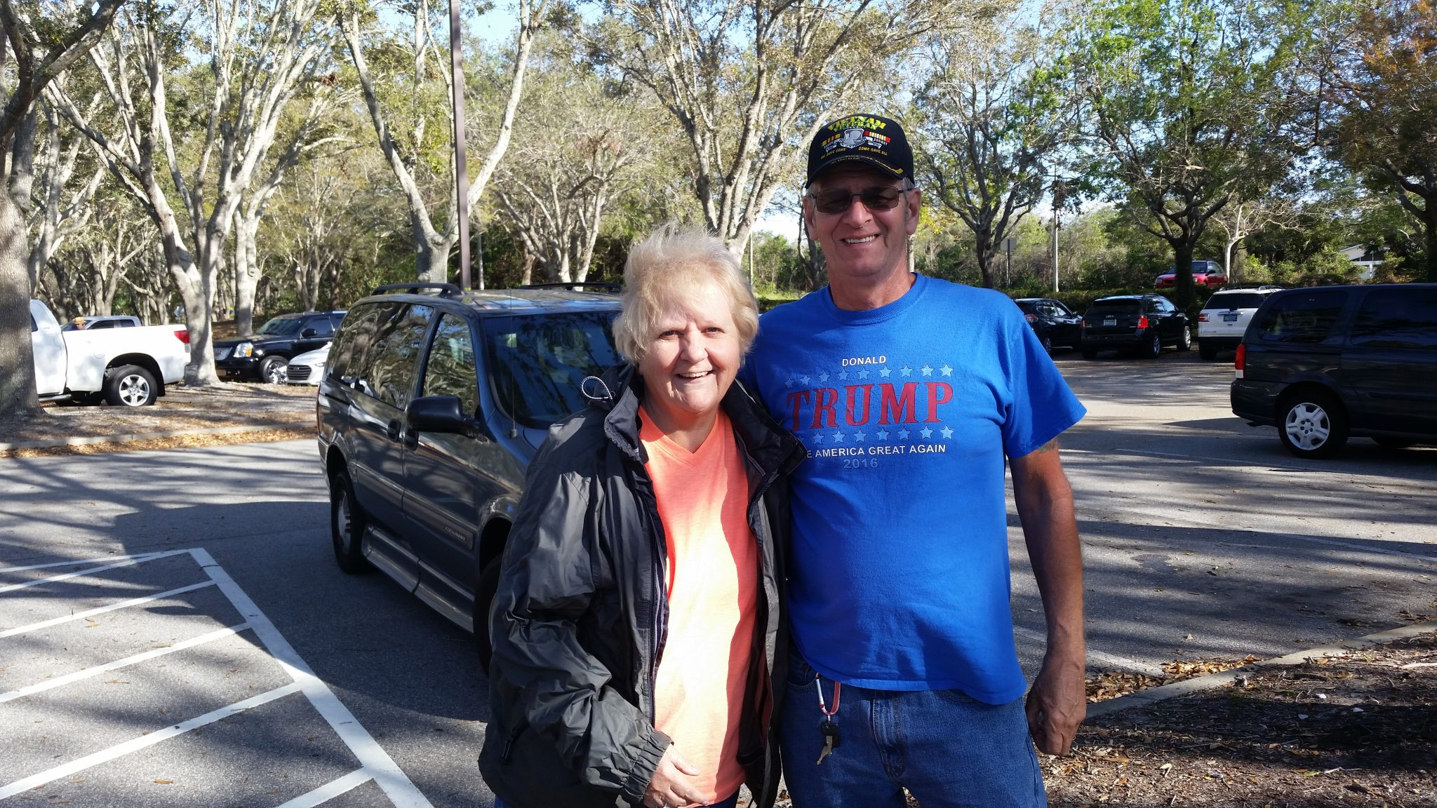A beautiful and happy day in Port Orange, FL that Ginny and Alden shared with Gloria and Larry