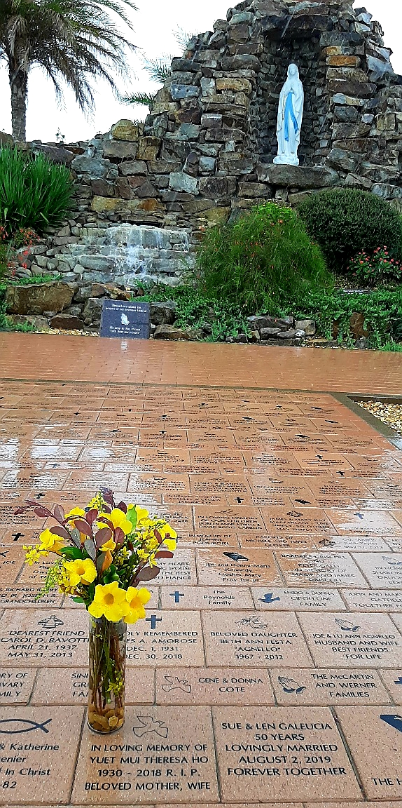 Prayer Garden with flowers for you Mom-ILY