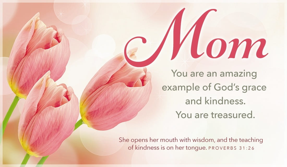 Always remembered, a most gracious mother