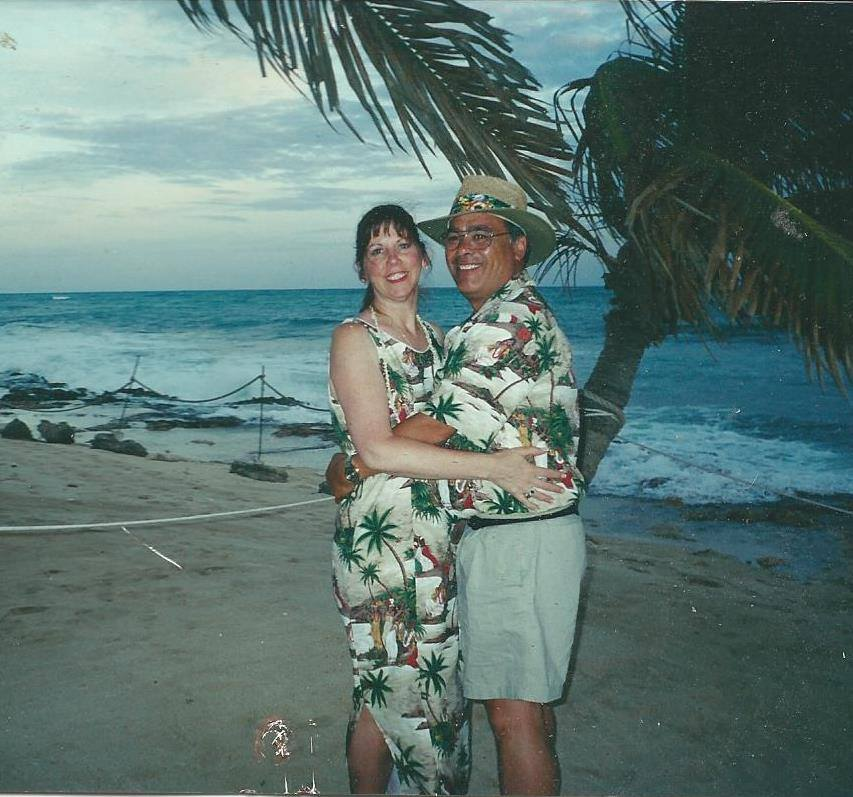 The happiest days of our lives.  Honeymoon in Hawaii 2000.<br /> Always and Forever you said. Didn't realize our forever wouldn't be that long. I will always love you.