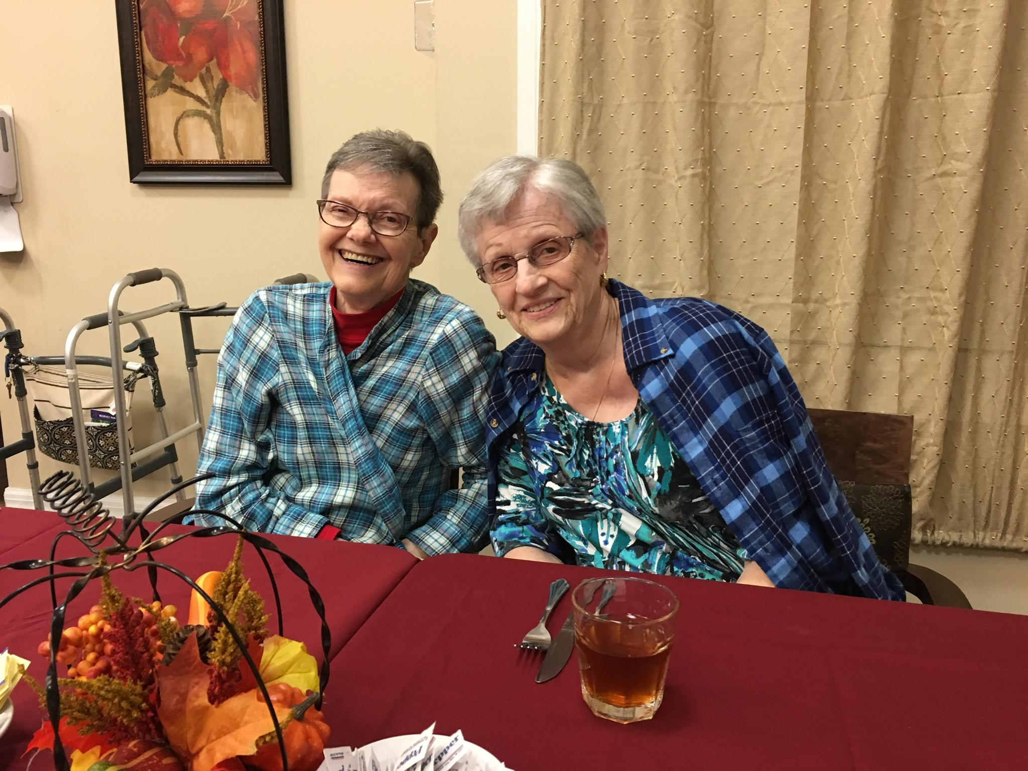 Barbara and Betty - Regency Park November 2017