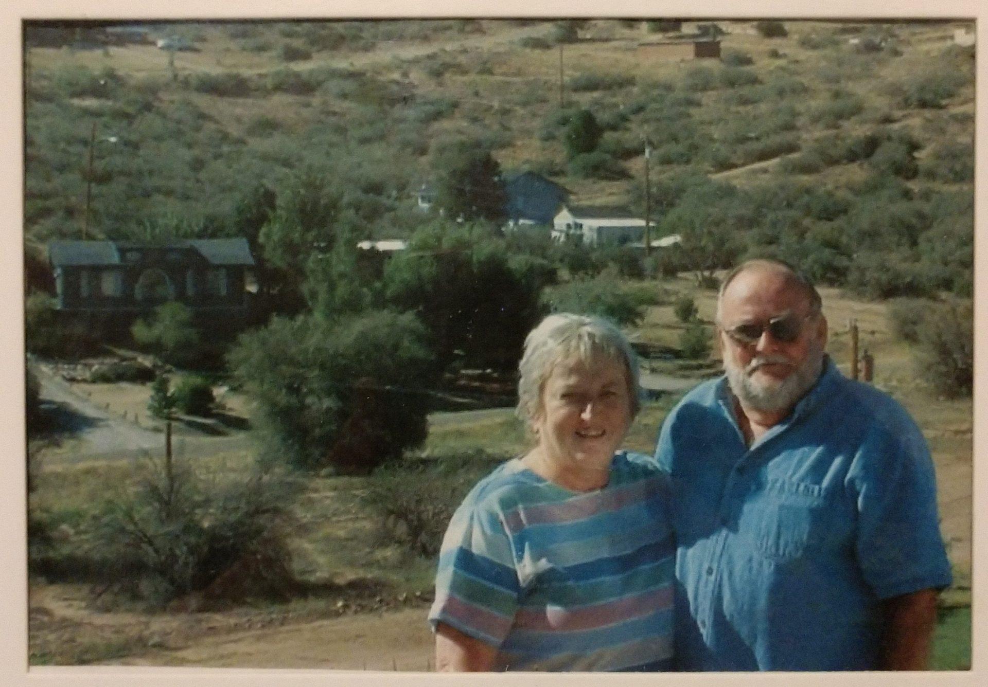 Mary and Wayne Harrell
