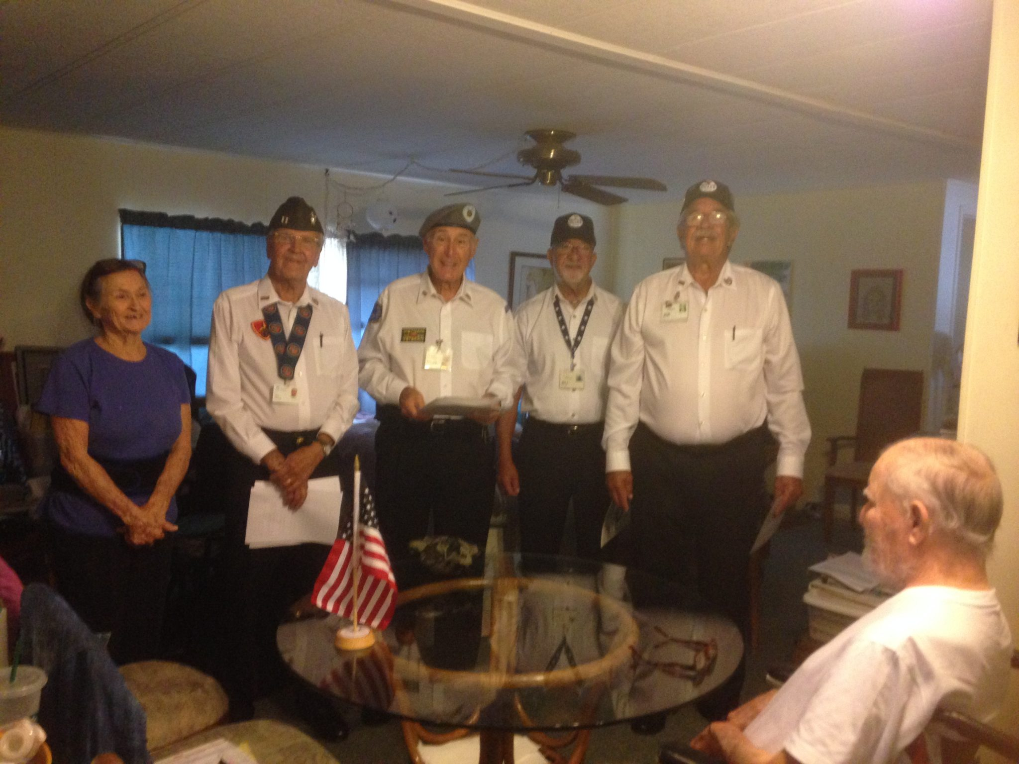 Veterans Honour odor Dave Edwards