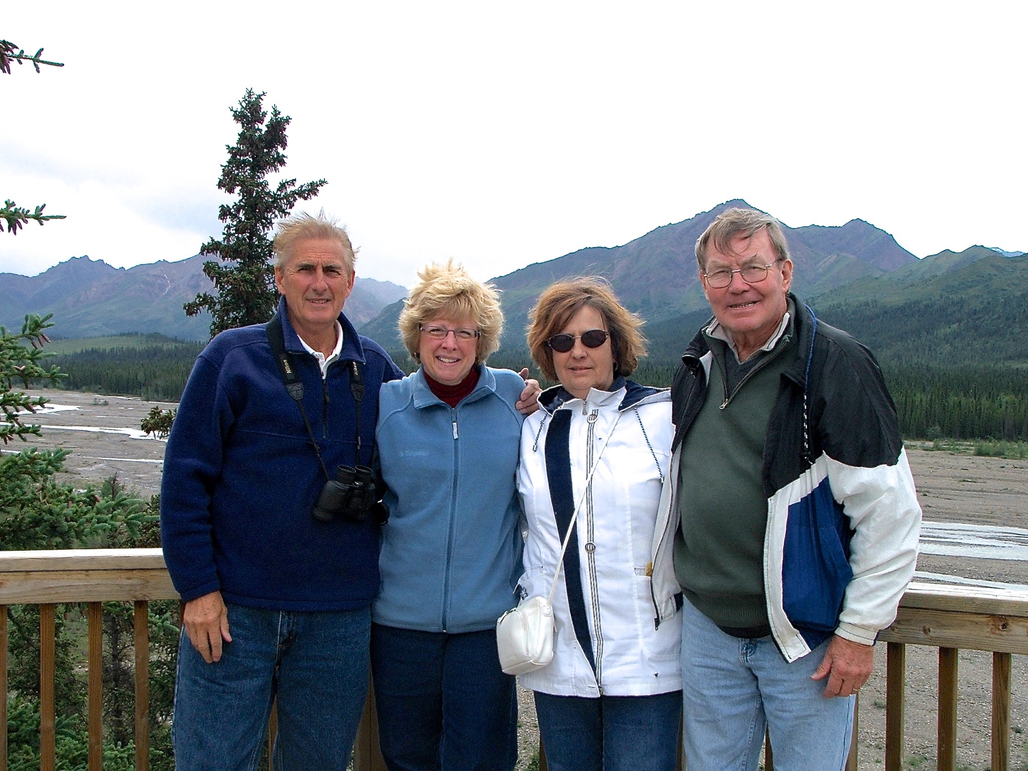 ALASKA - Only one of many wonderful times spent together. Sadly missed. Much loved! More brother than brother-in law!