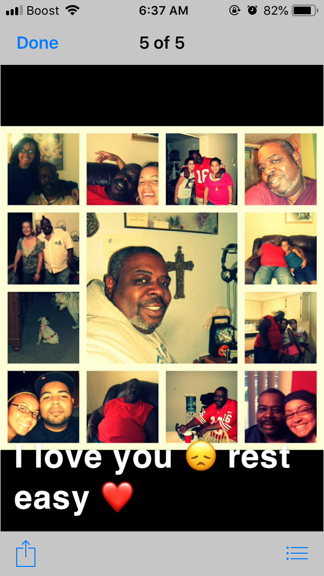 Collage of love ?? made by Alysia aka Dinky to grandpa