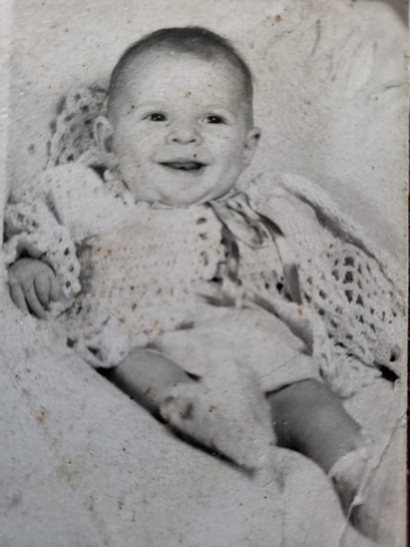 Sherry Phillips<br /> approximately 6 months old