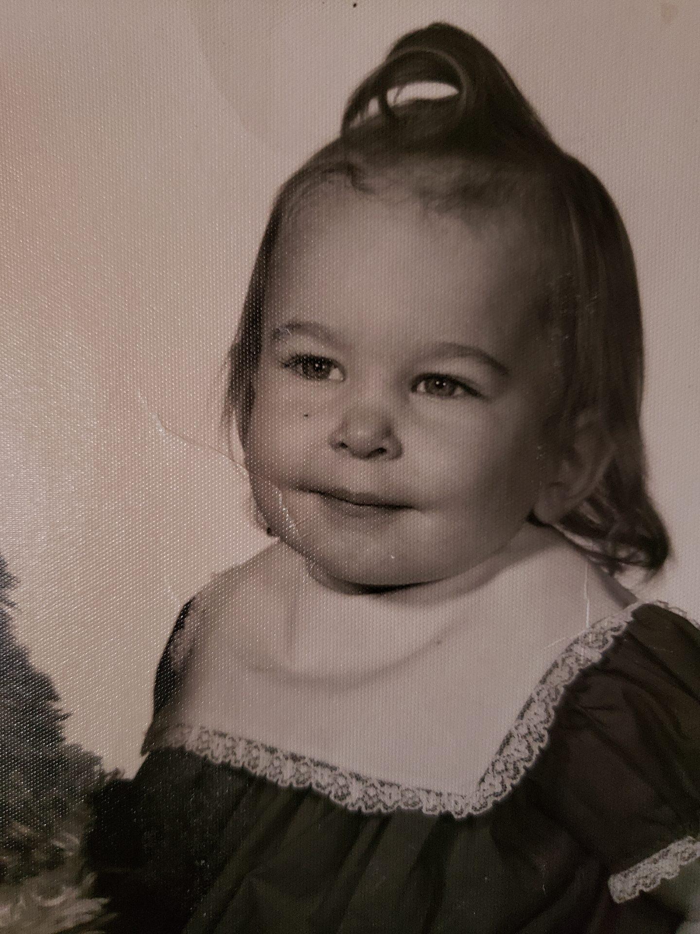 Barbara at age 18 months