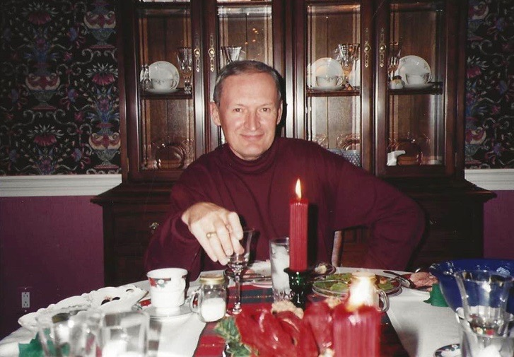 Dad in middle age, I think.